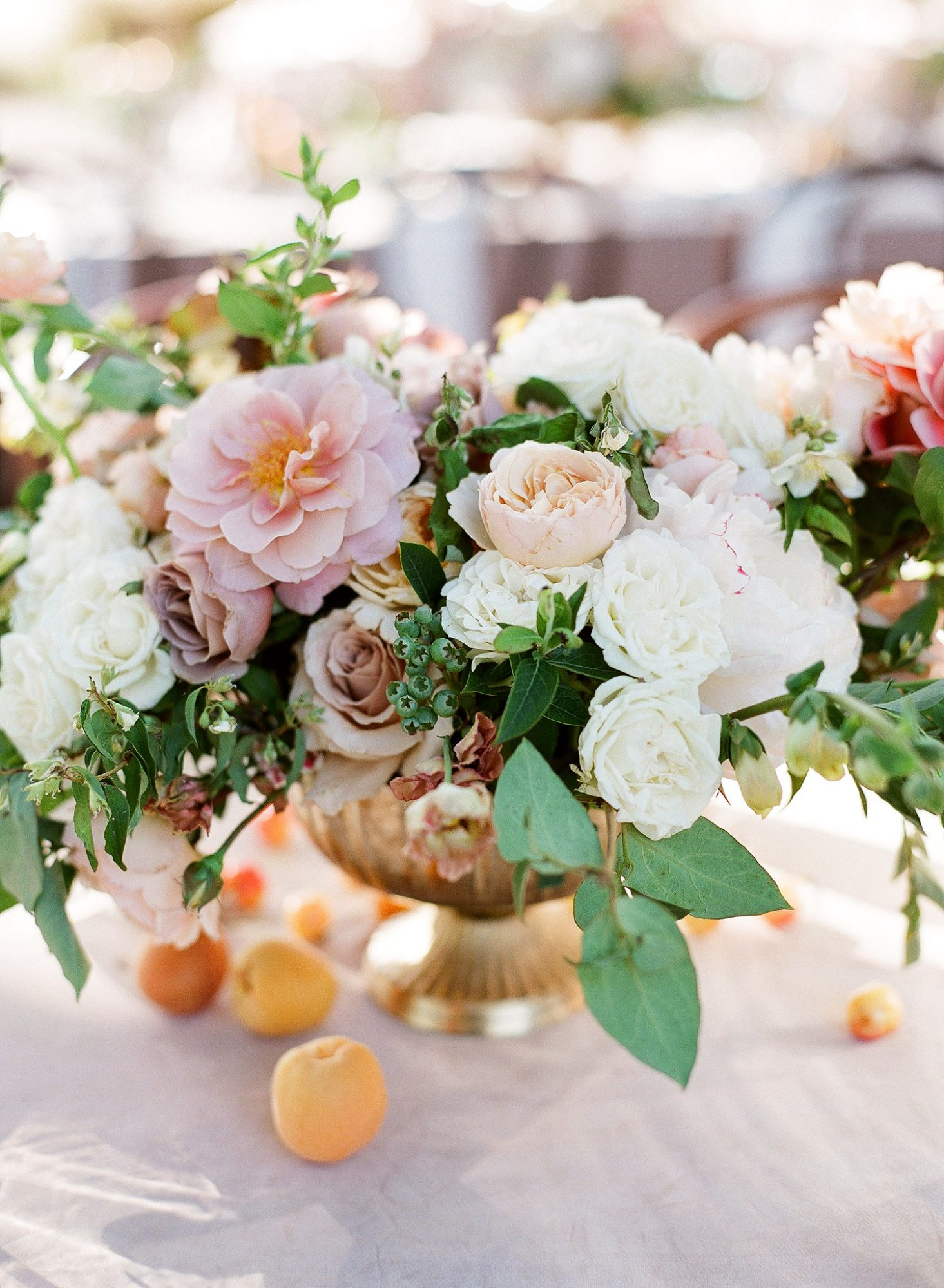tamara erik wedding reception centerpieces