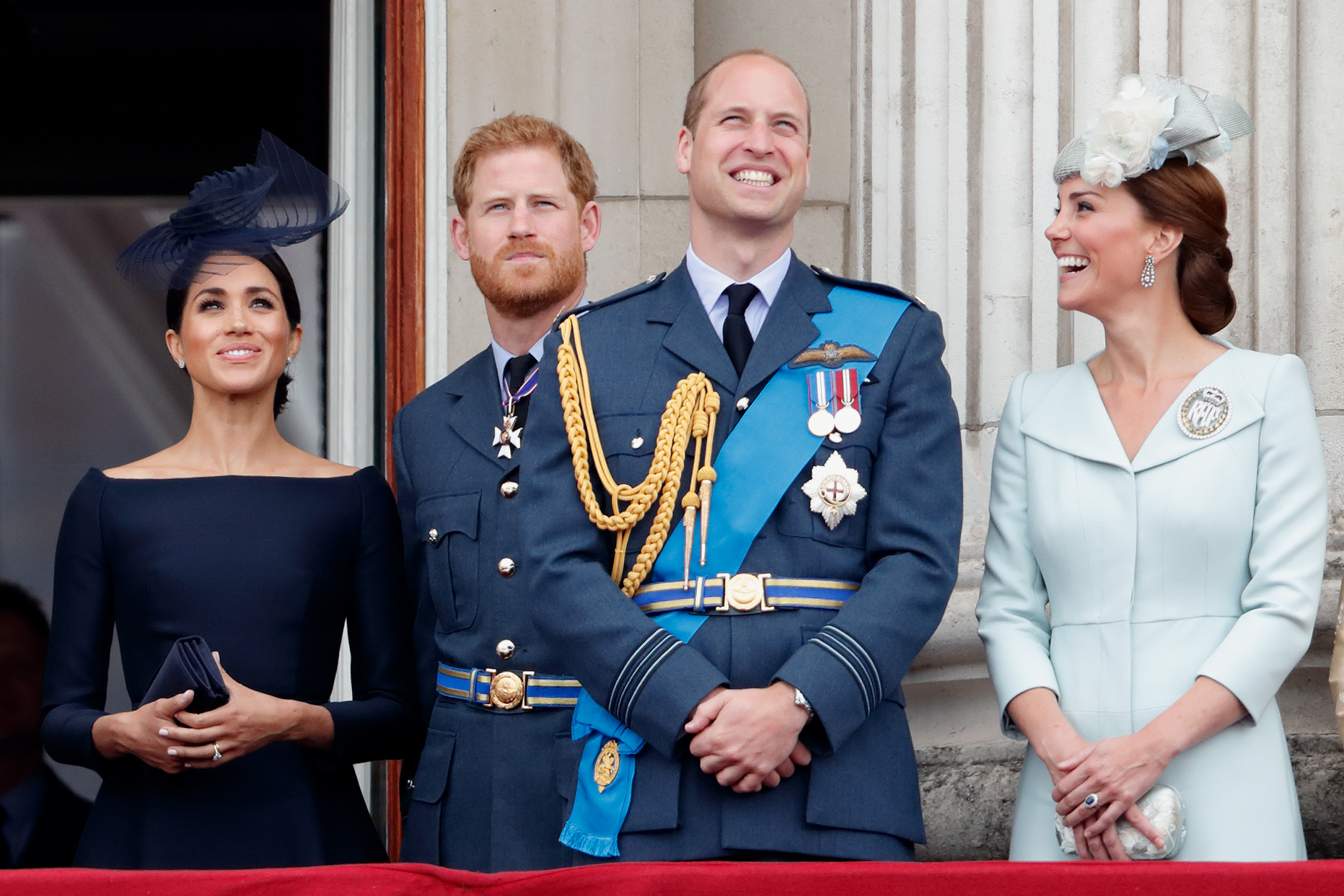 prince william kate middleton prince harry meghan markle