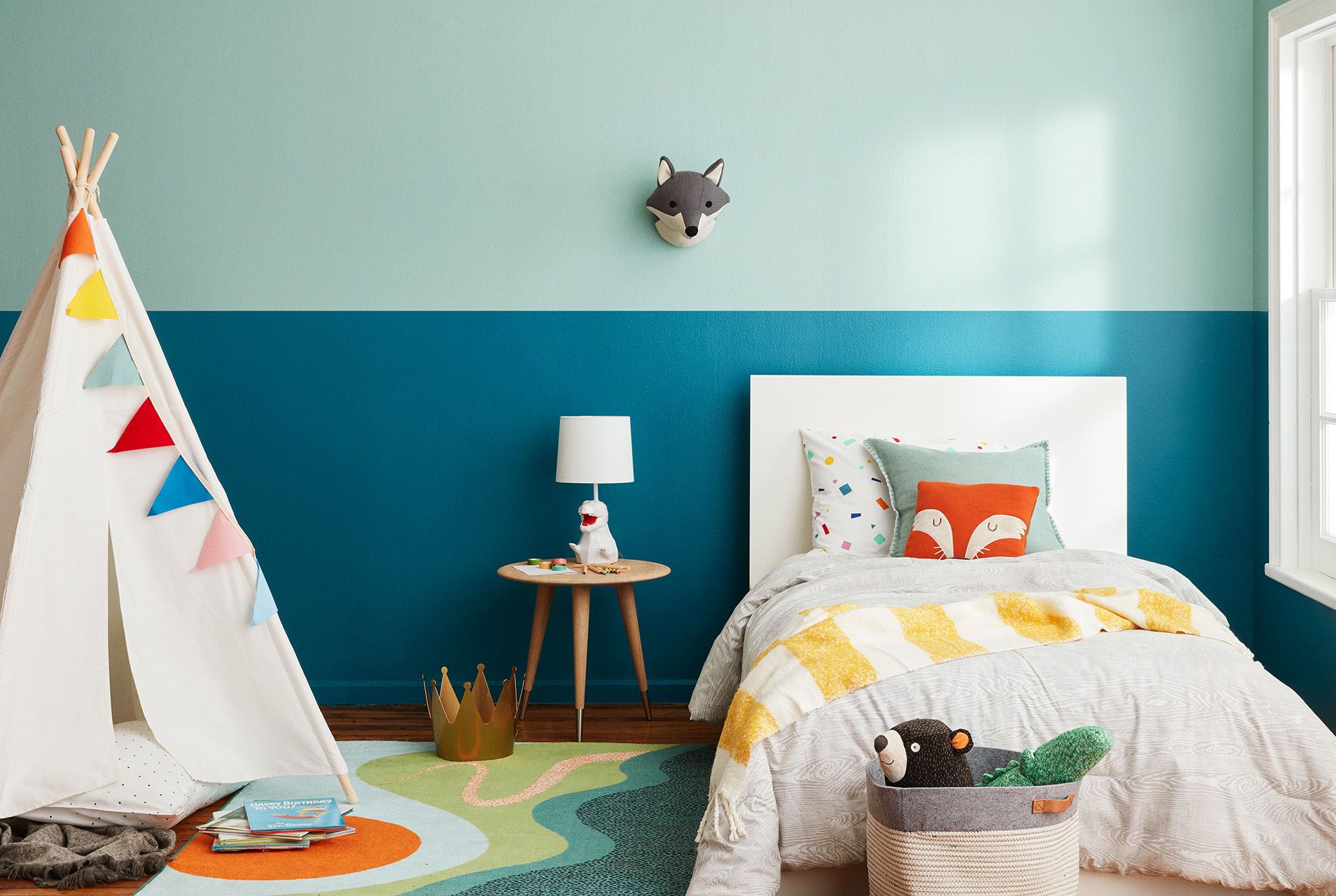 How to Choose a Youthful Paint Color for Your Child's Room That Still Complements the Rest of Your Home