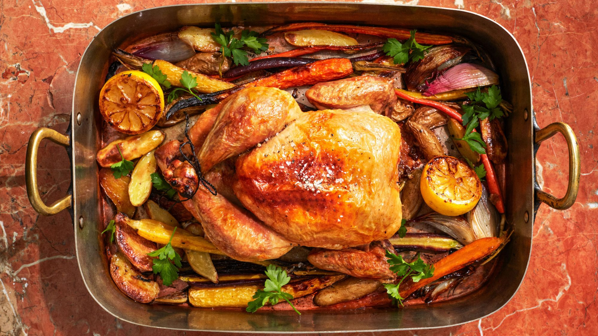 When you want to make a meal that will please everyone at the dinner table, make this one. Chicken paired with potatoes, carrots, shallots, and lemons will become your new go-to.