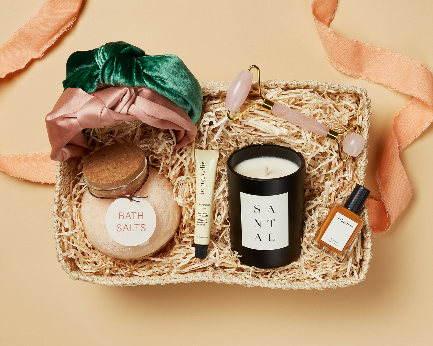 self-care kit with supplies