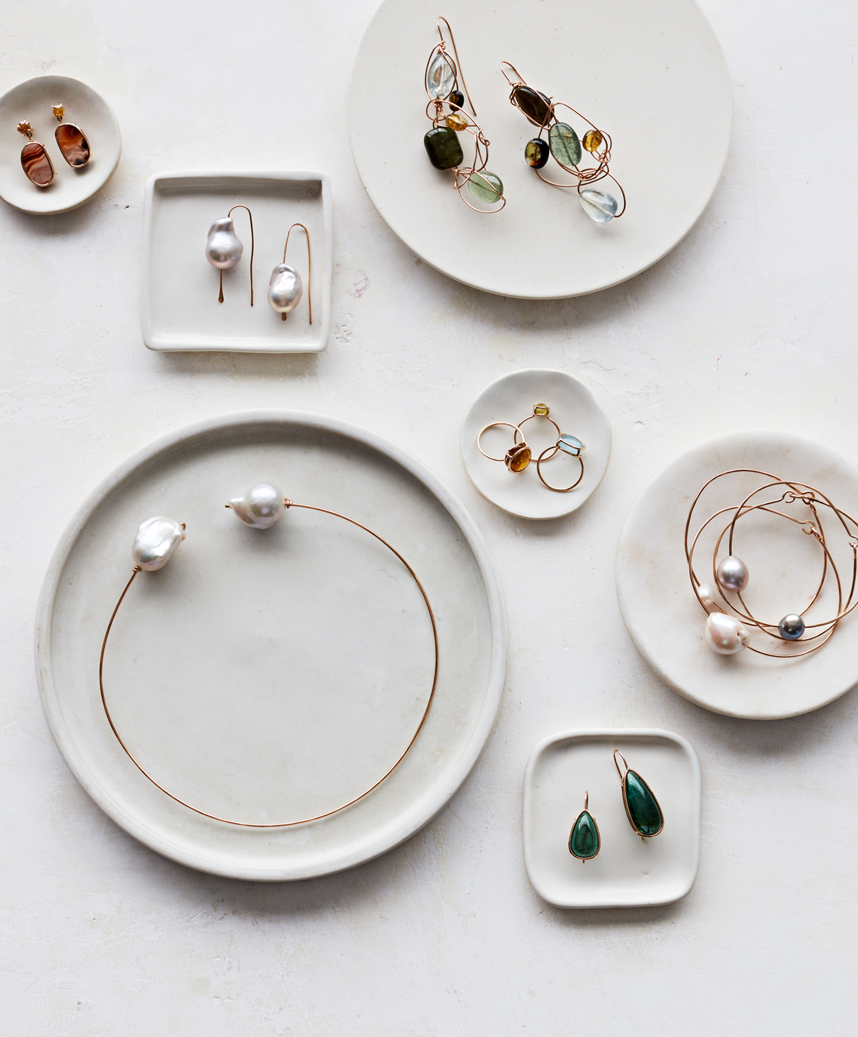 mary macgill gold wire and gem jewelry