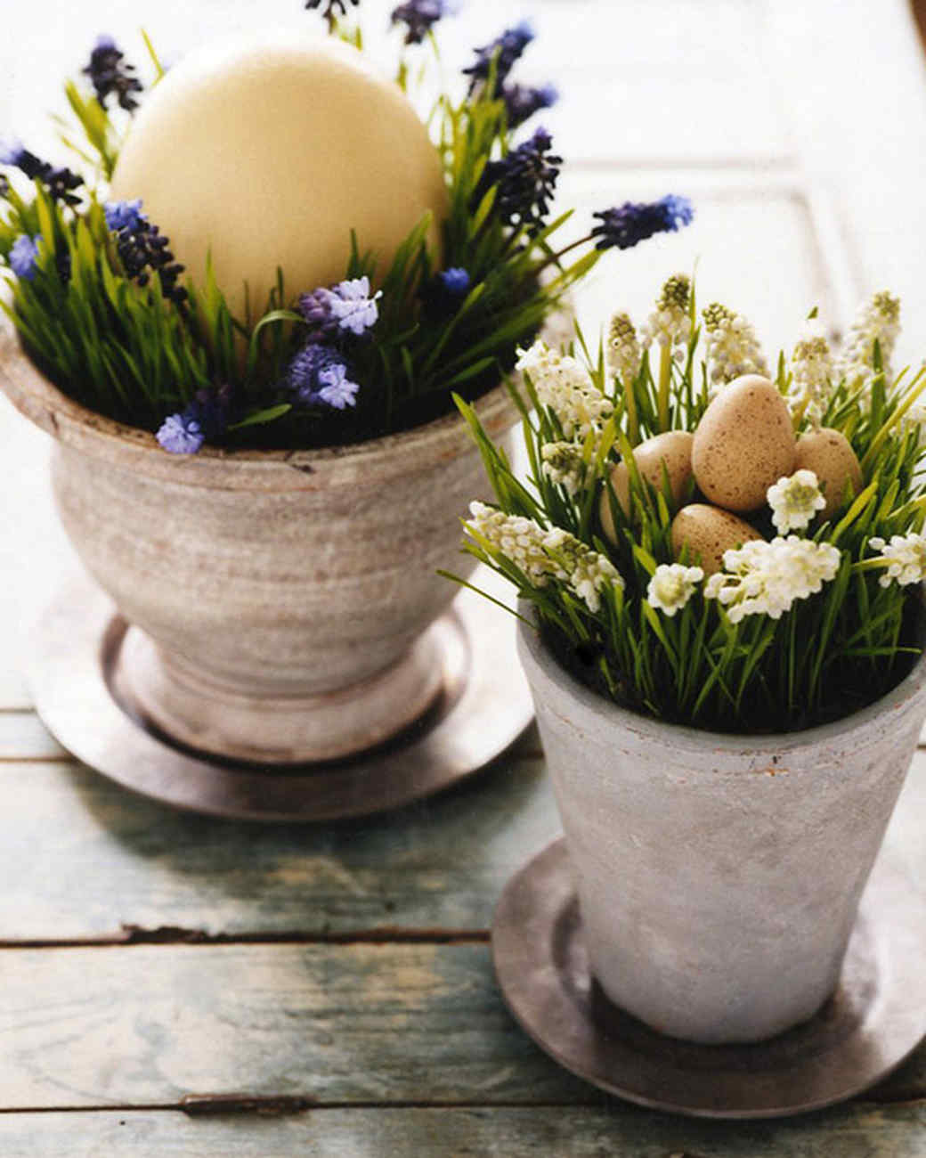 egg centerpieces