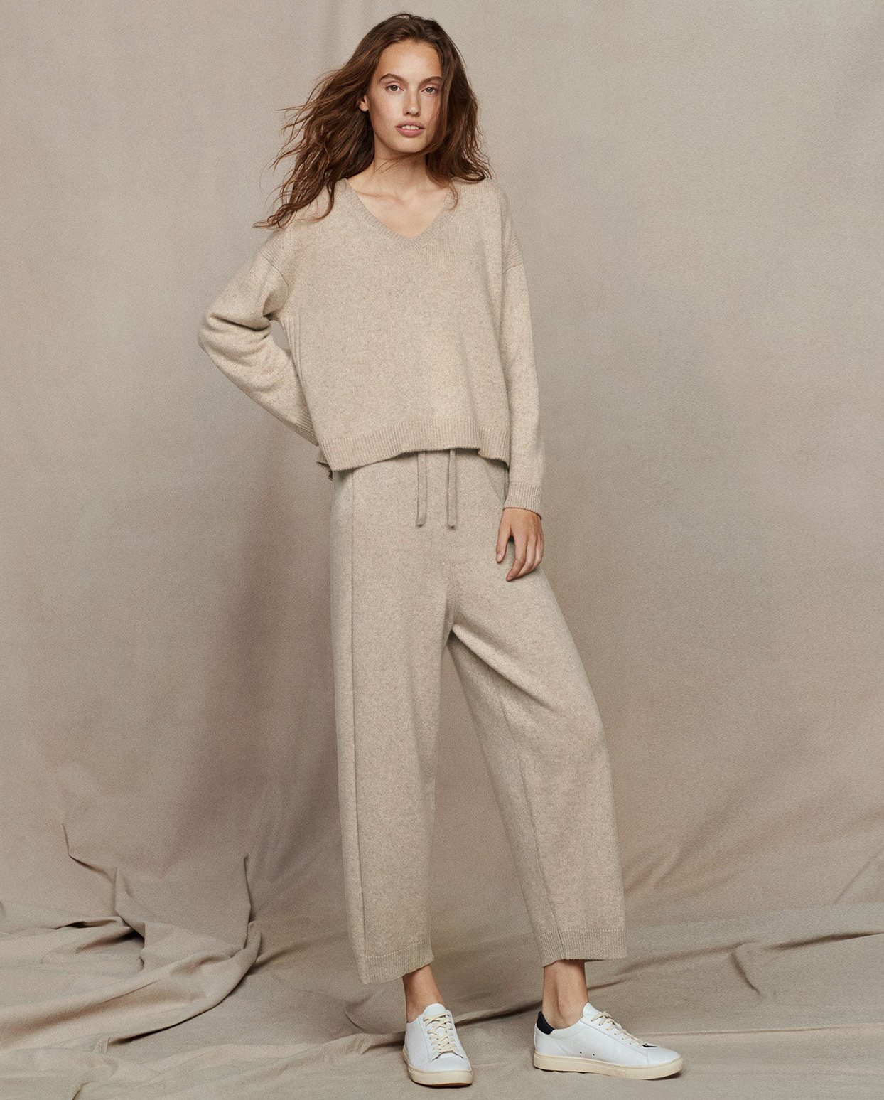 Poetry Recycled Cashmere Trousers