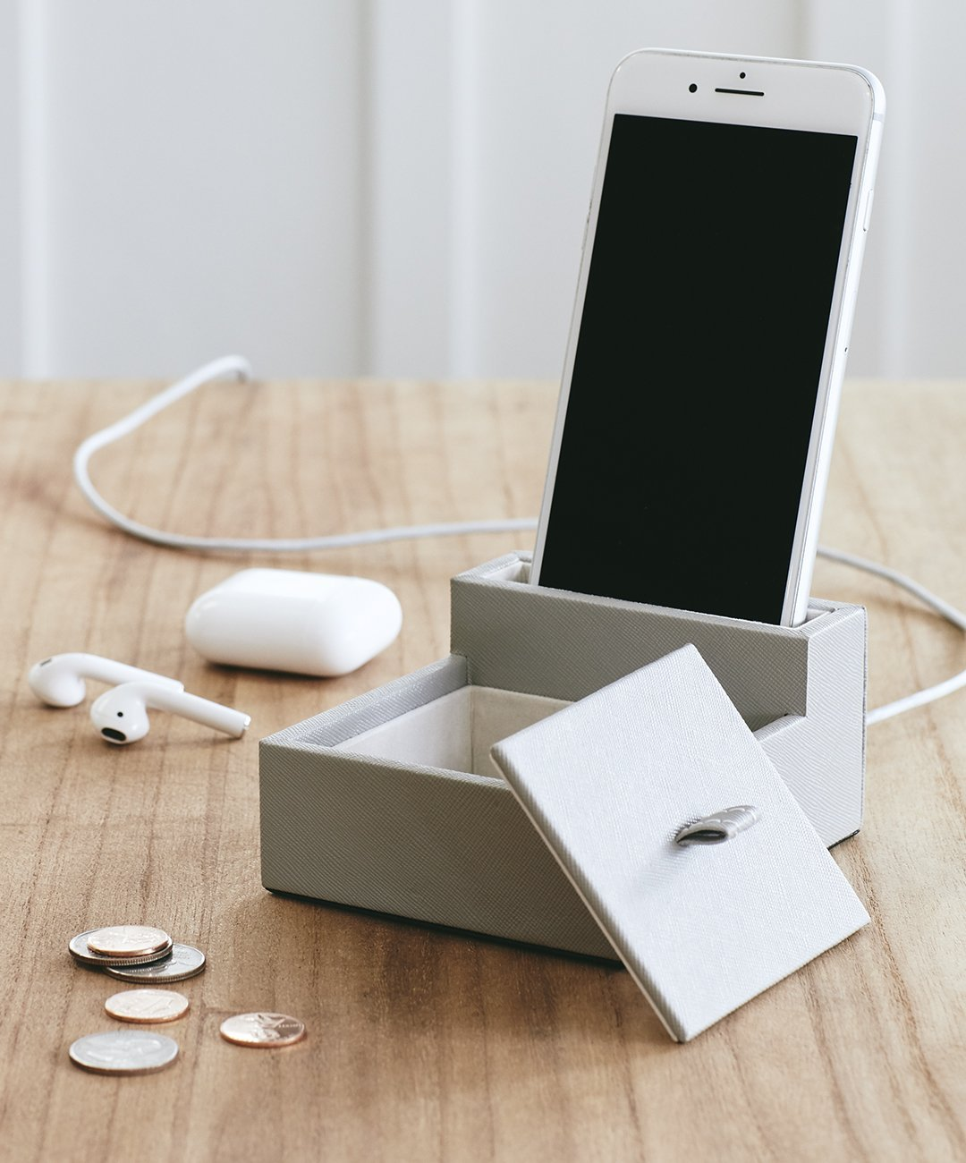 Boon Supply Vegan Leather Phone Stand