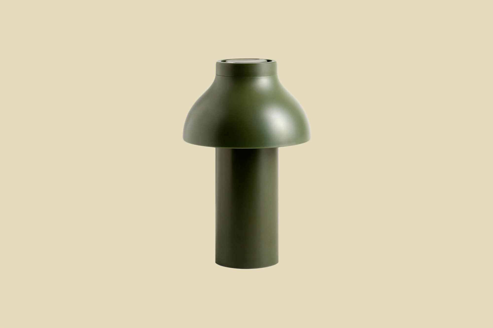 """HAY """"PC"""" Portable Lamp in Olive"""