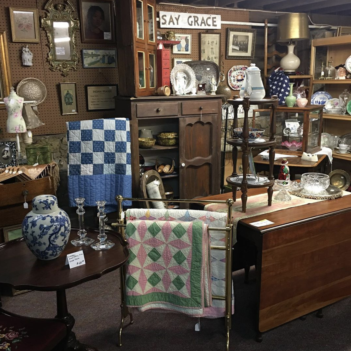 A town doesn't get a reputation as its state's best city for antiques by selling only midcentury modern. Walnut's 15 antique shops are filled with vintage glassware, fireplace mantles, and other aged beauties. In June more than 300 vendors and scores of shoppers descend on the town for the annual Walnut Antique Show, filling two indoor halls and 17 blocks—just about the entire town. You'll also want to check out Granary Mall and Mabel's Old Fashioned Rose.