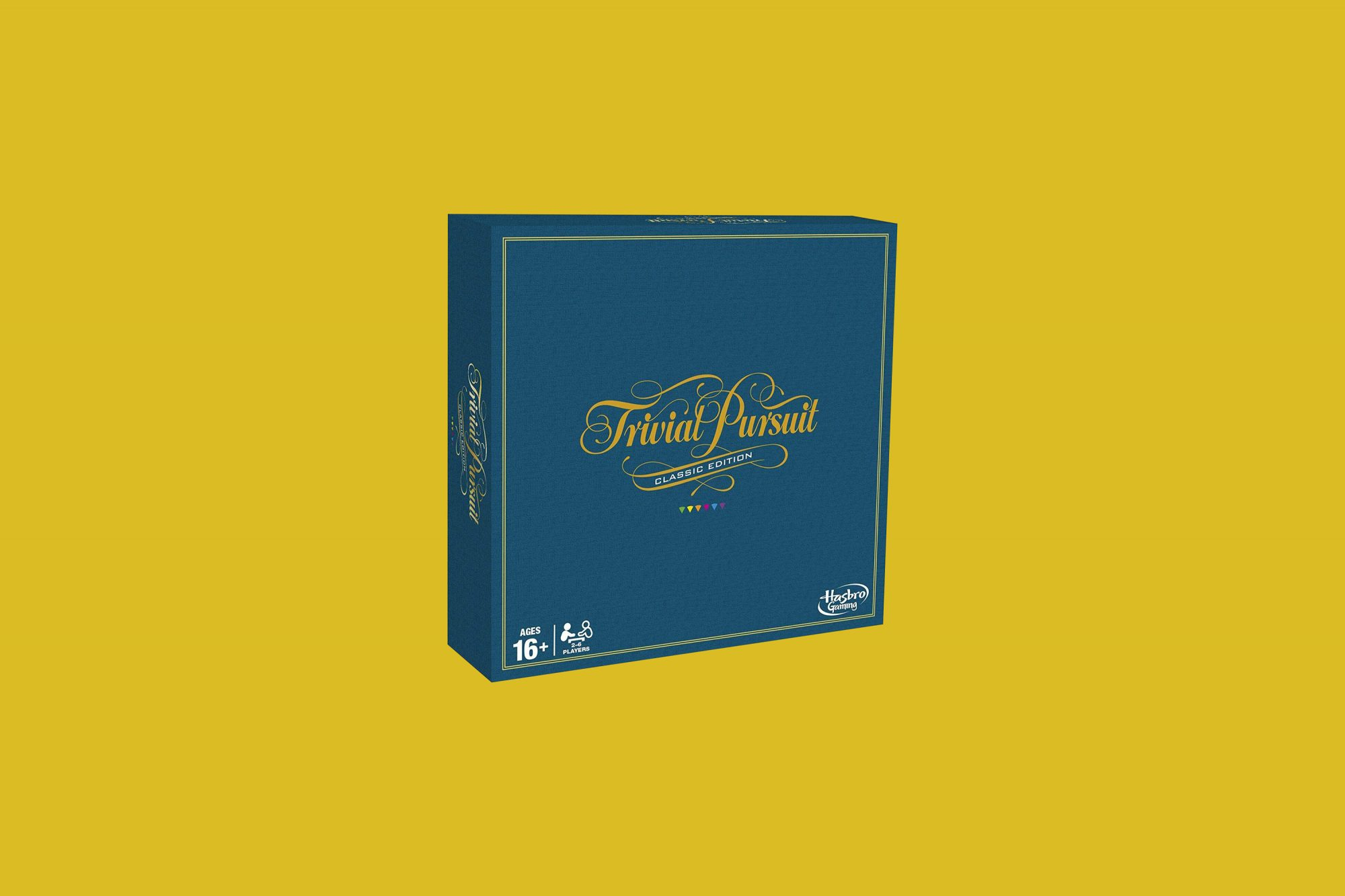 Hasbro Gaming Trivial Pursuit, The Classic Edition