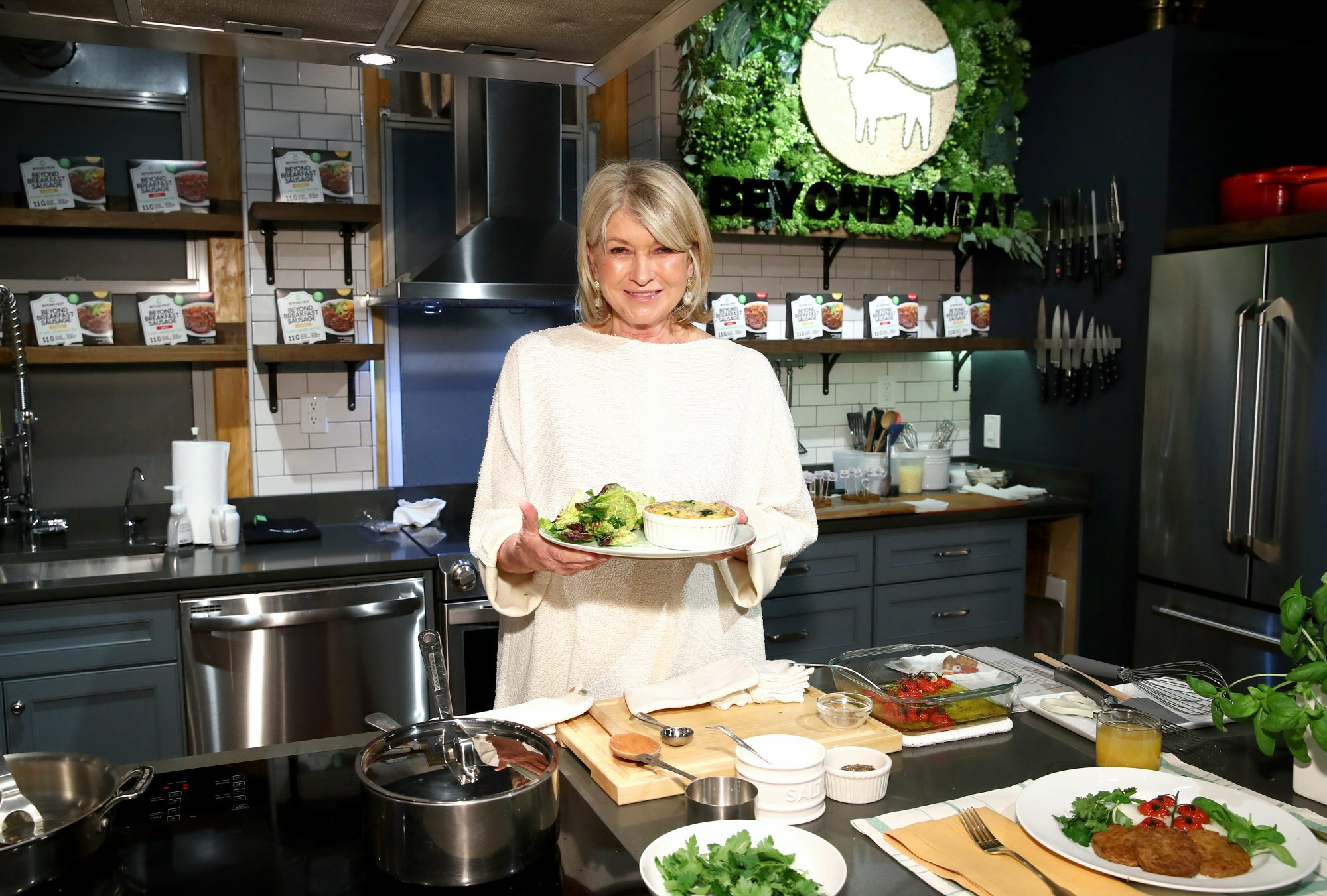 Martha Stewart x Beyond Meat