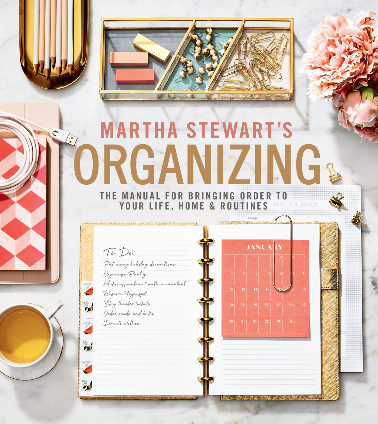 martha stewarts organizing manual book cover
