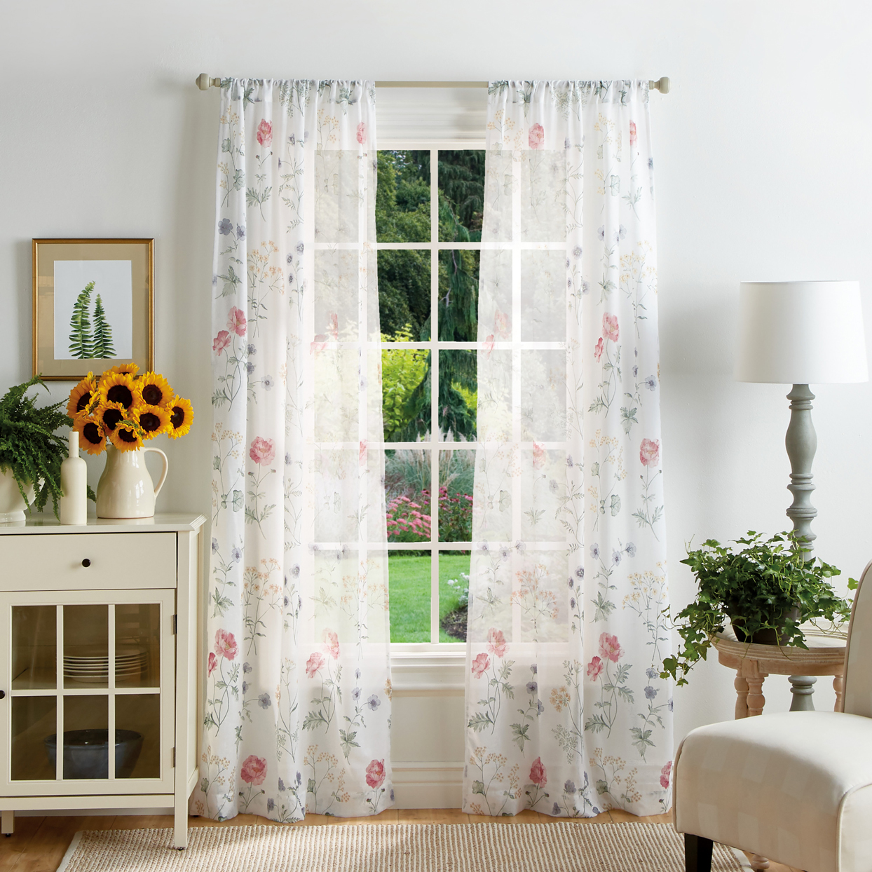 martha stewart collection curtain panels