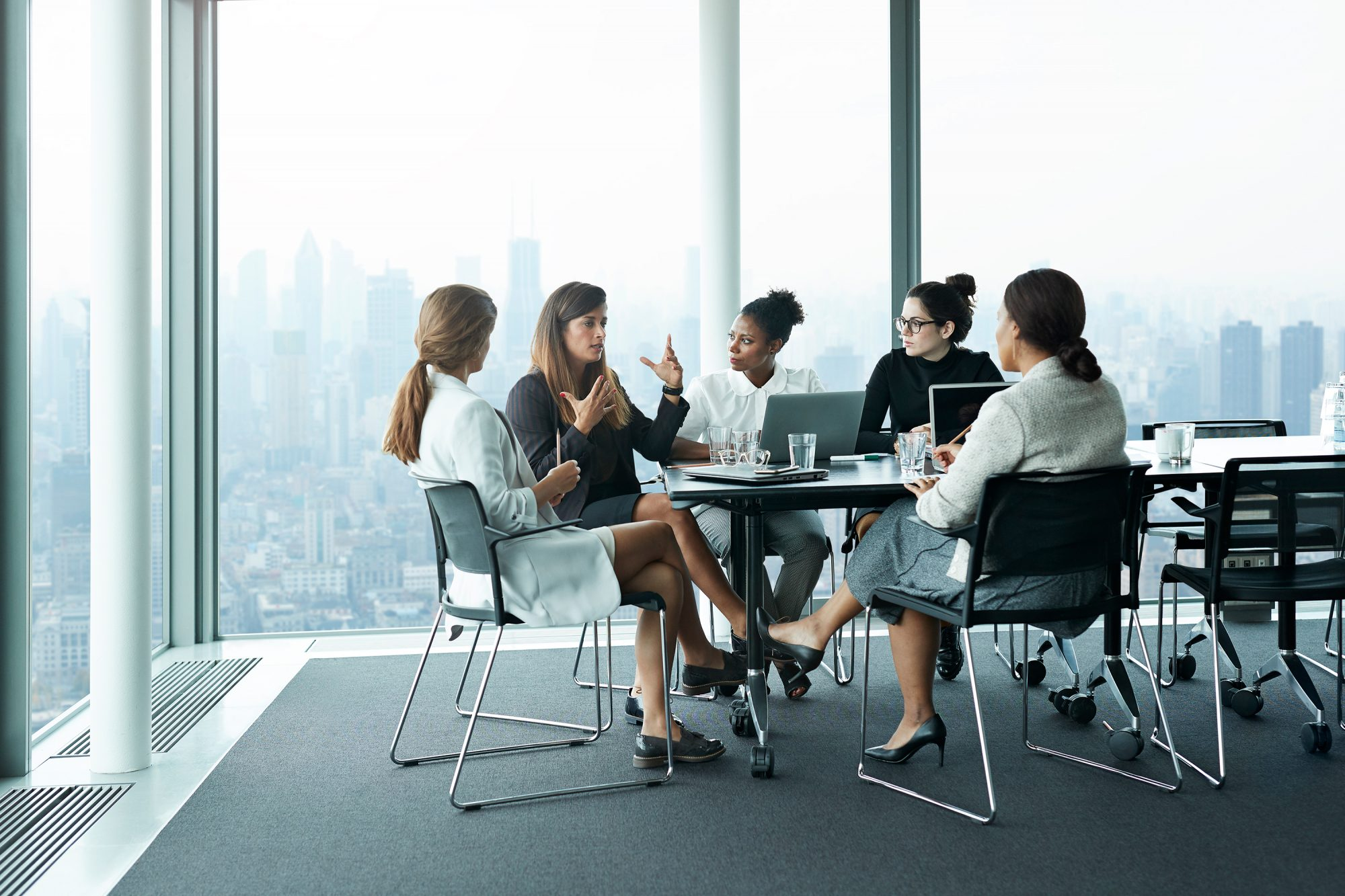 Women Having a Meeting at Work