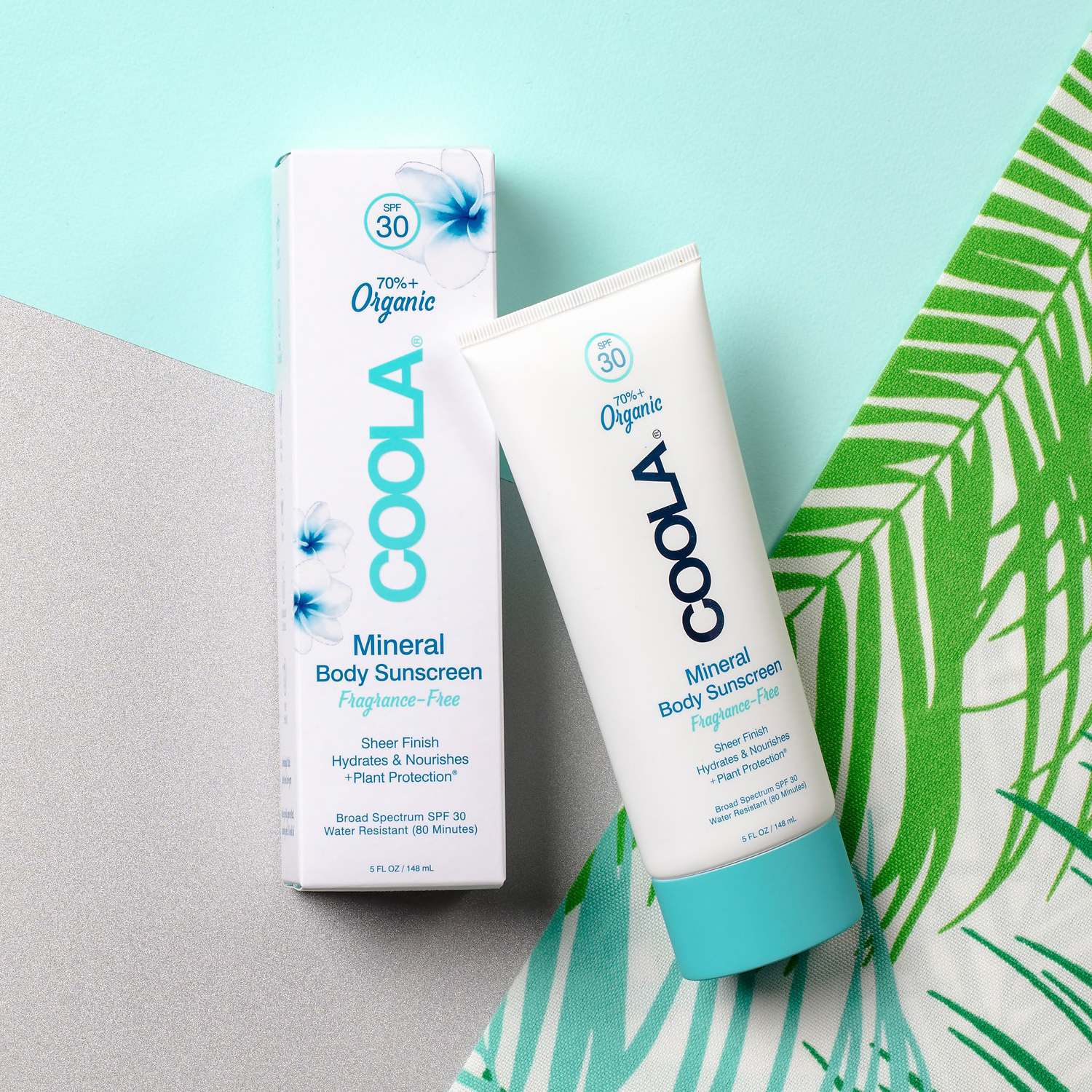 COOLA Mineral Body Sunscreen tube and box