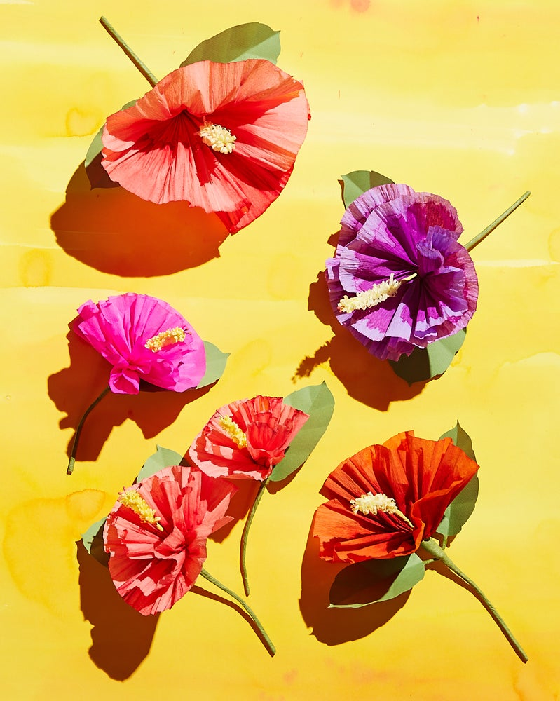 Paper-Flower Making