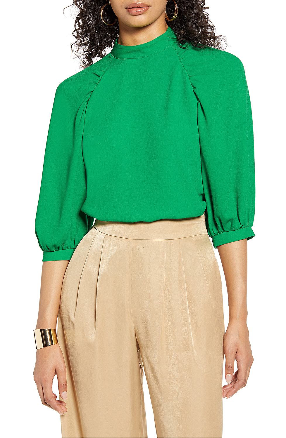 green blouse from nordstrom