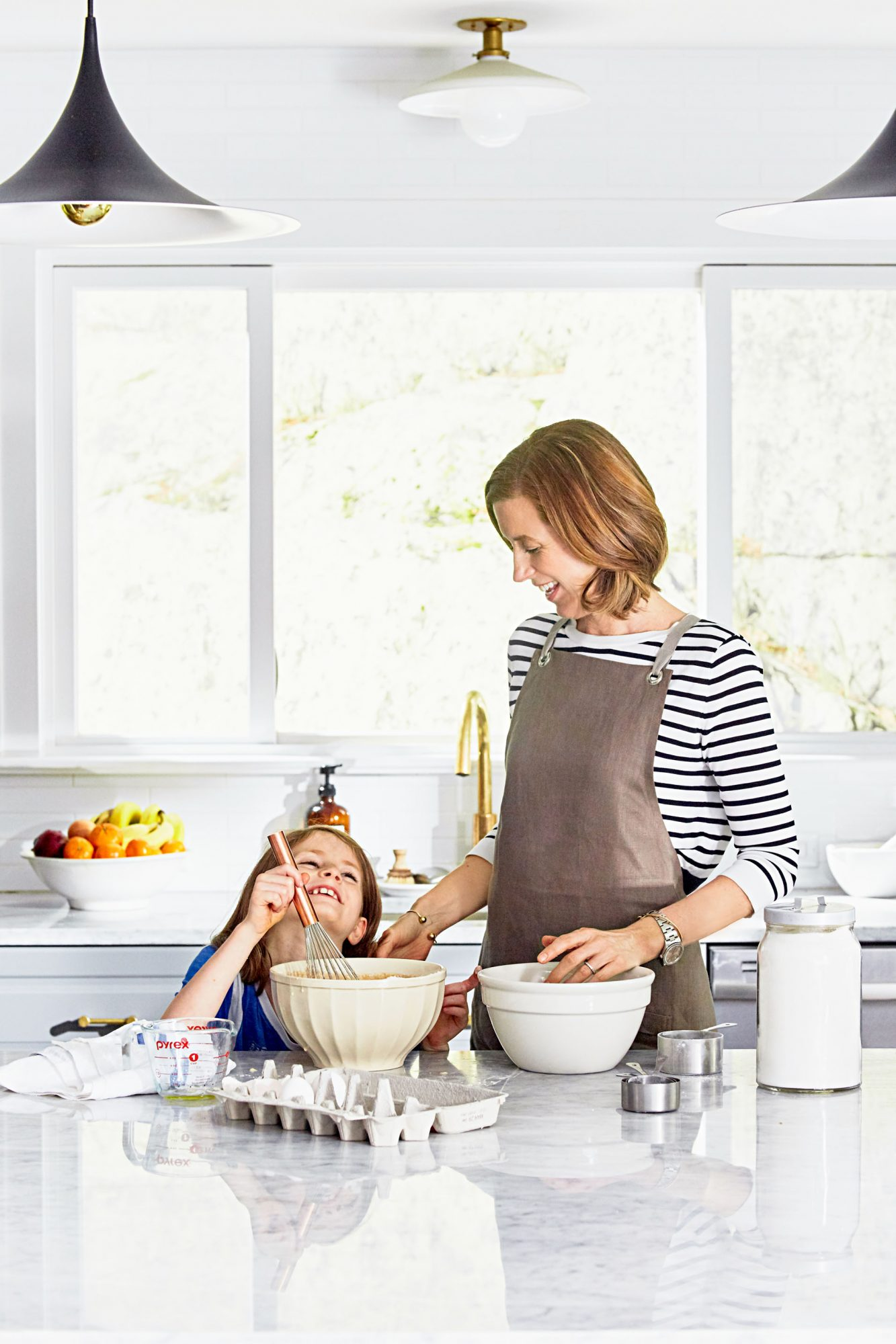 jennifer aaronson and daughter cooking