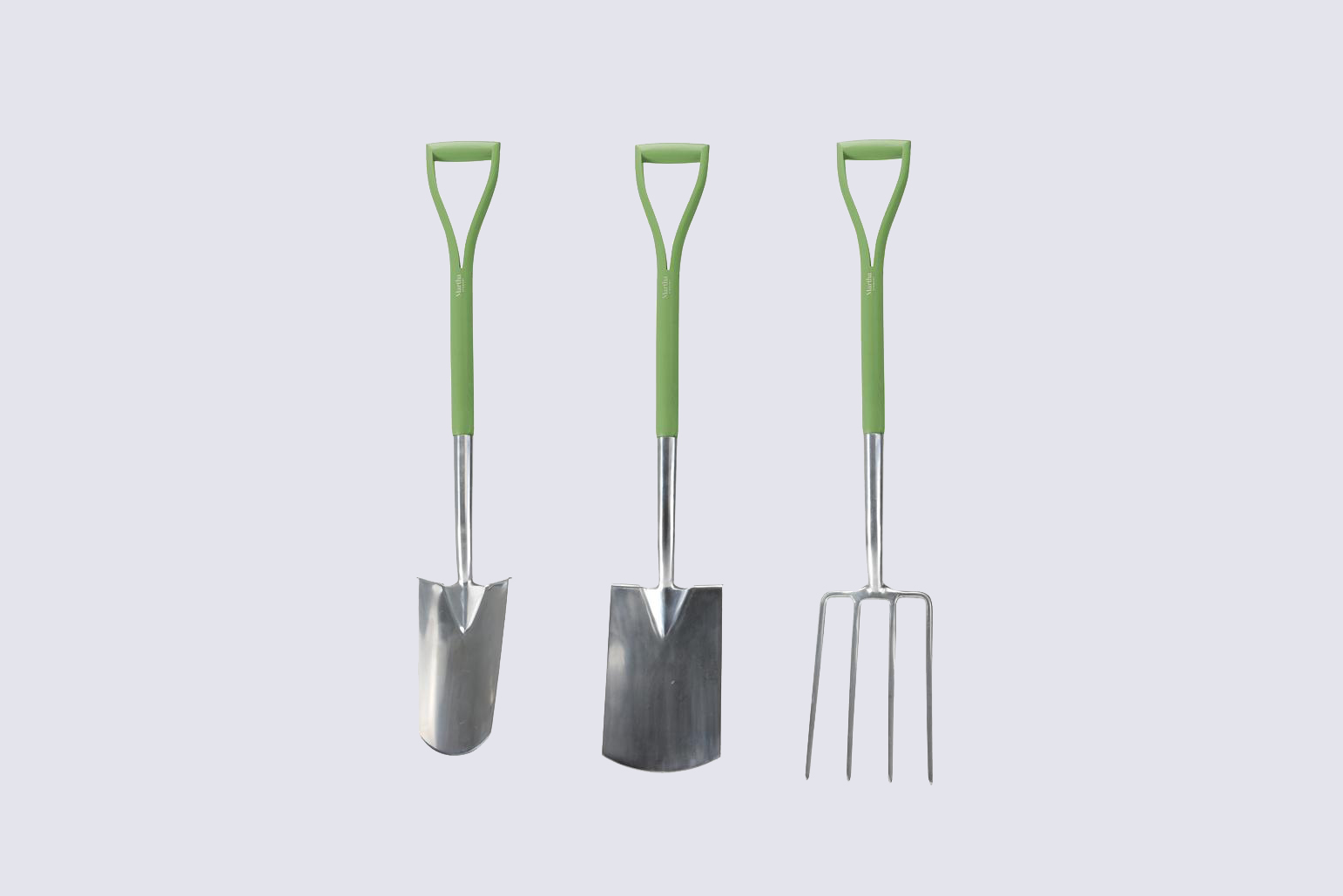Martha Stewart Three-Piece Stainless Steel Gardening Tool Set