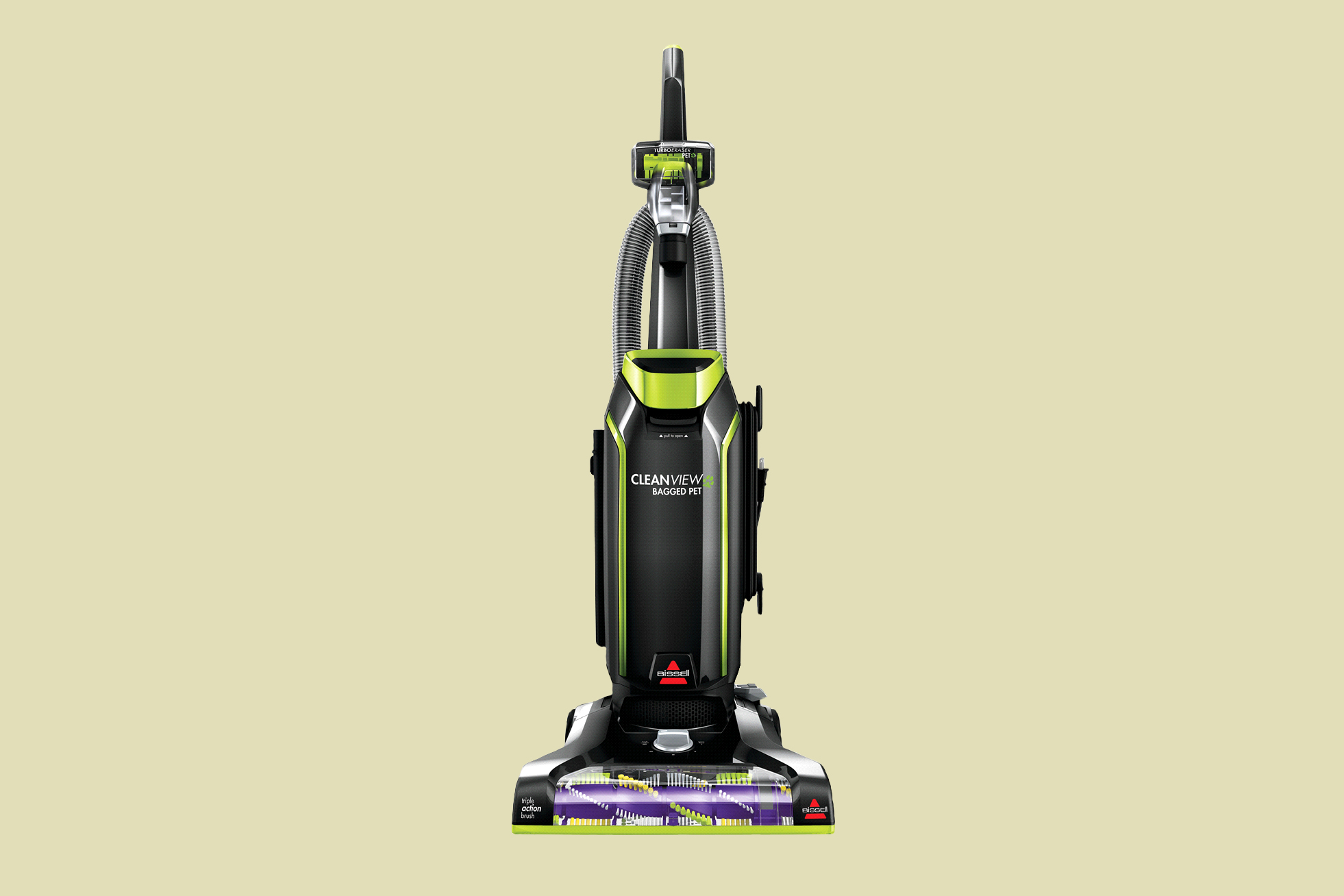 bissell cleanview bagged pet upright vacuum cleaner
