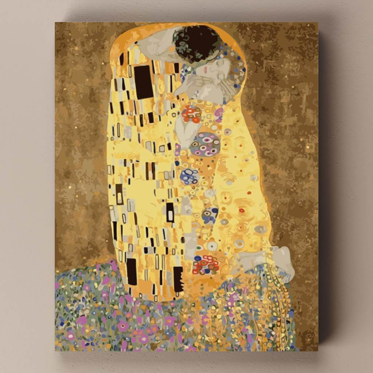 Paint by number Gustav Klimt The Kiss