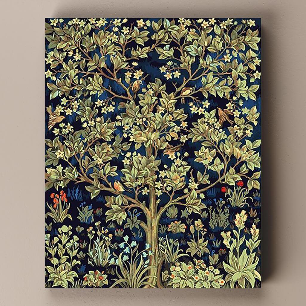 Paint by number tree of life