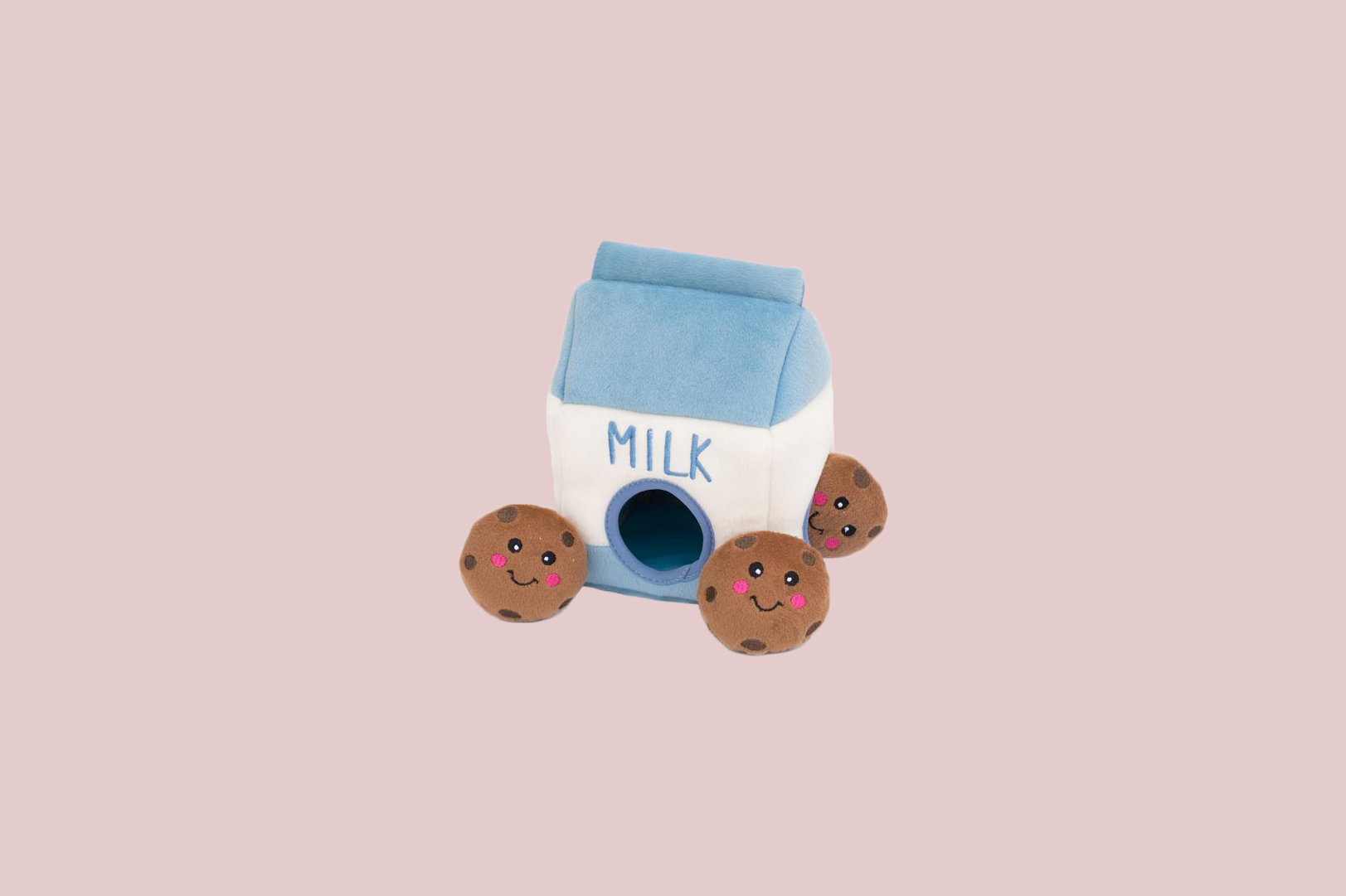 Zippy Burrow Milk and Cookies Toy
