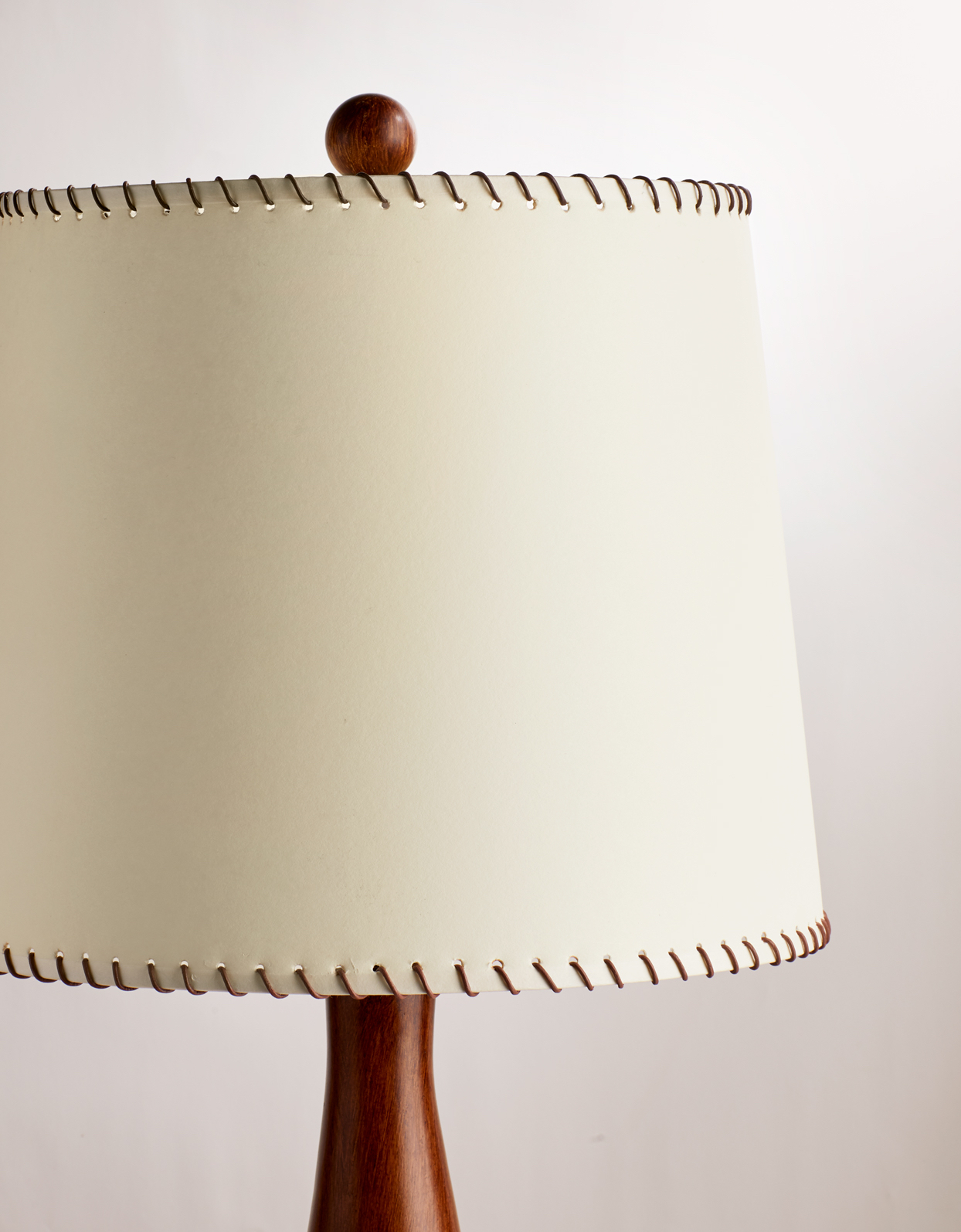 Frame for scalloped edge lampshade light empire shape vintage project arts craft