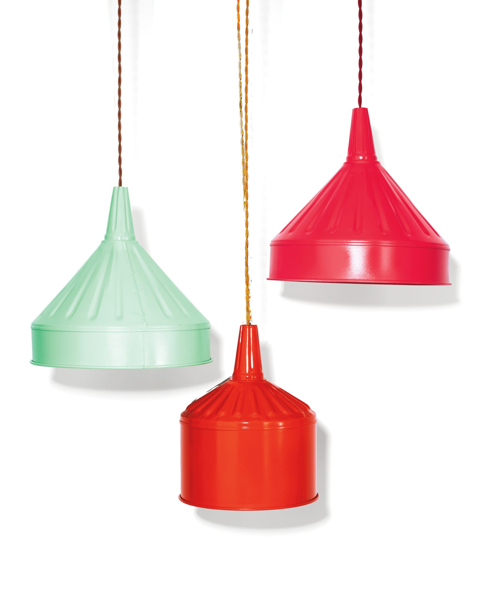 funnel lampshades