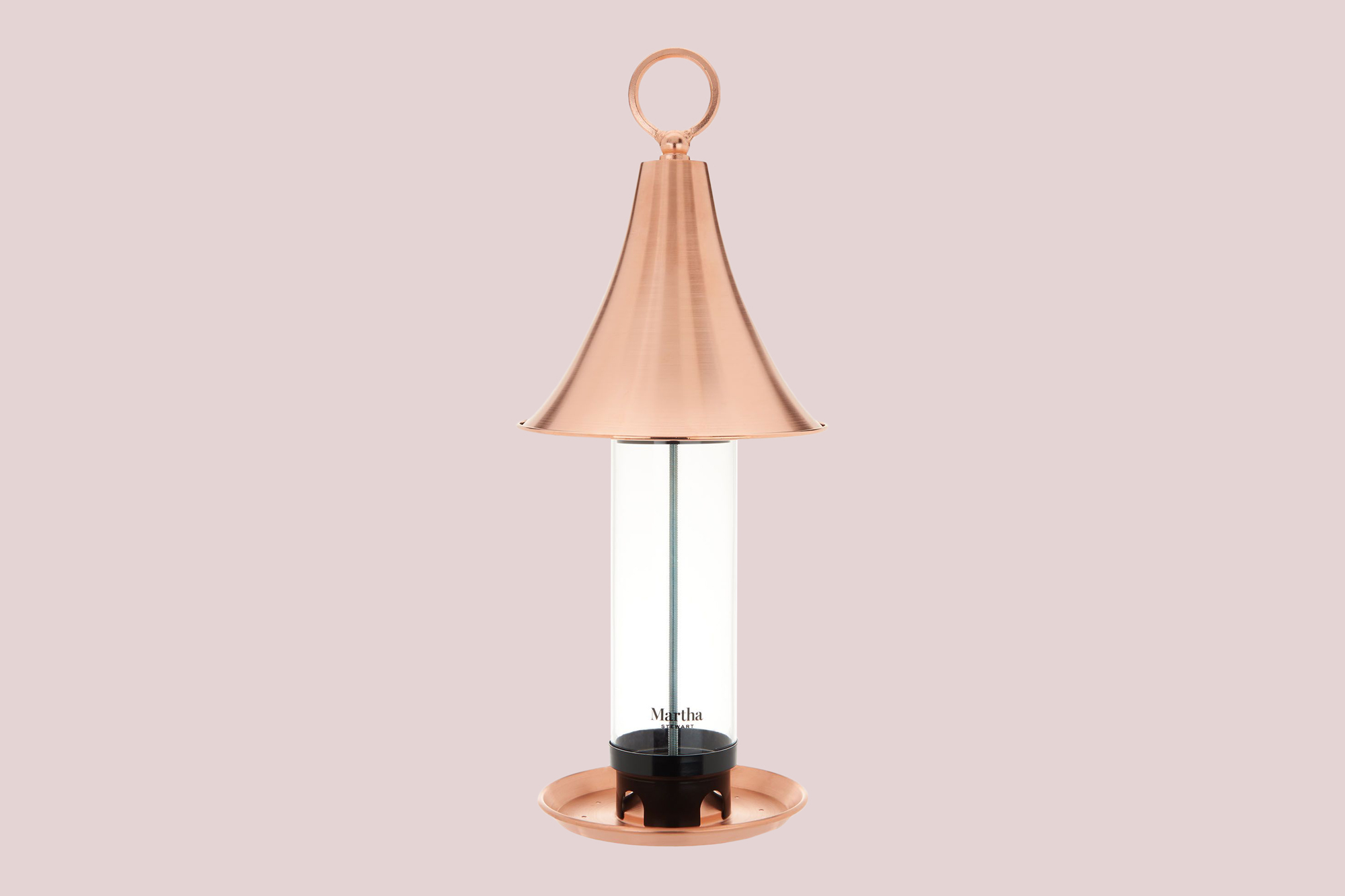 Martha Stewart Copper Bird Feeder