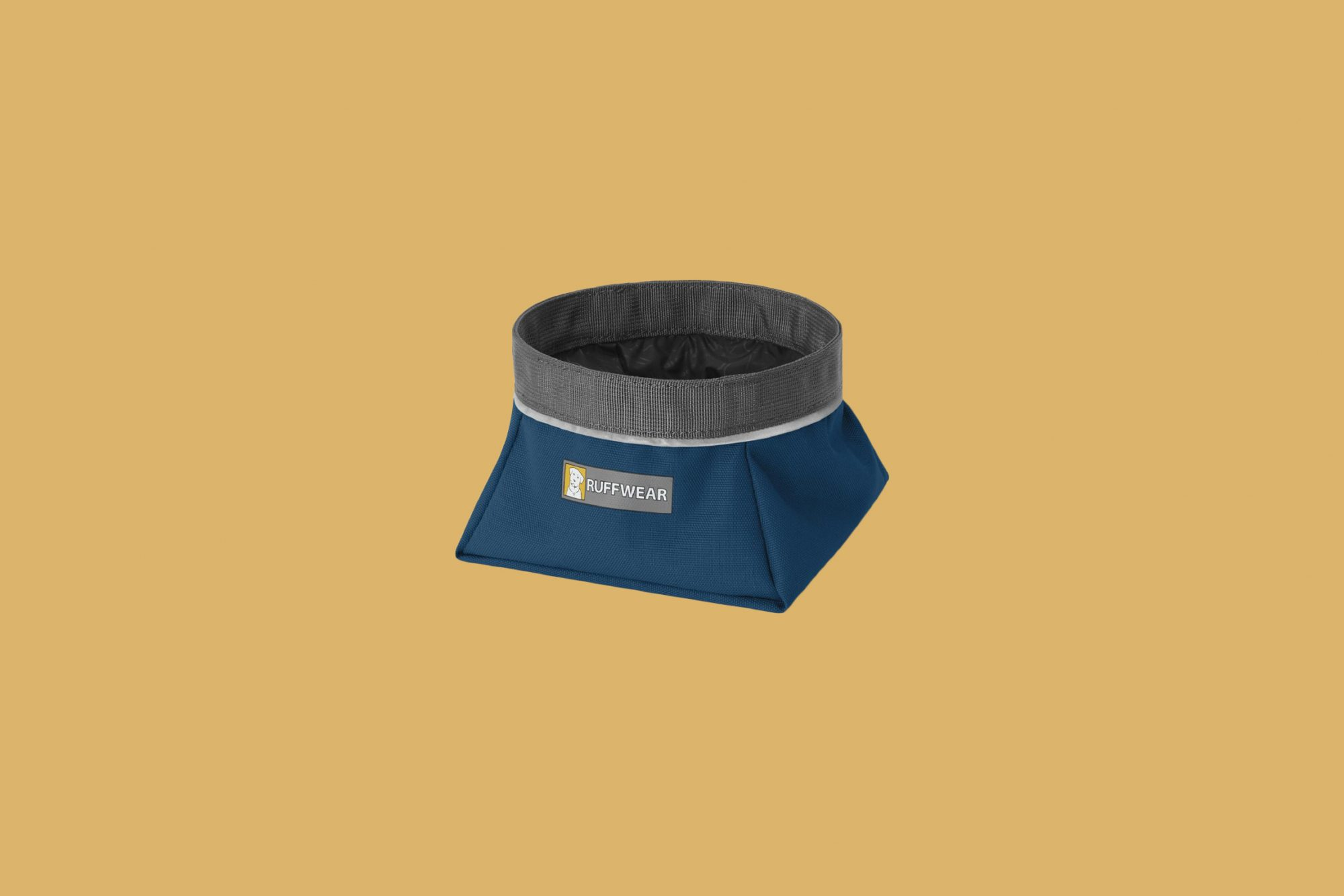 Ruffwear Quencher Dog Bowl, in Blue Moon