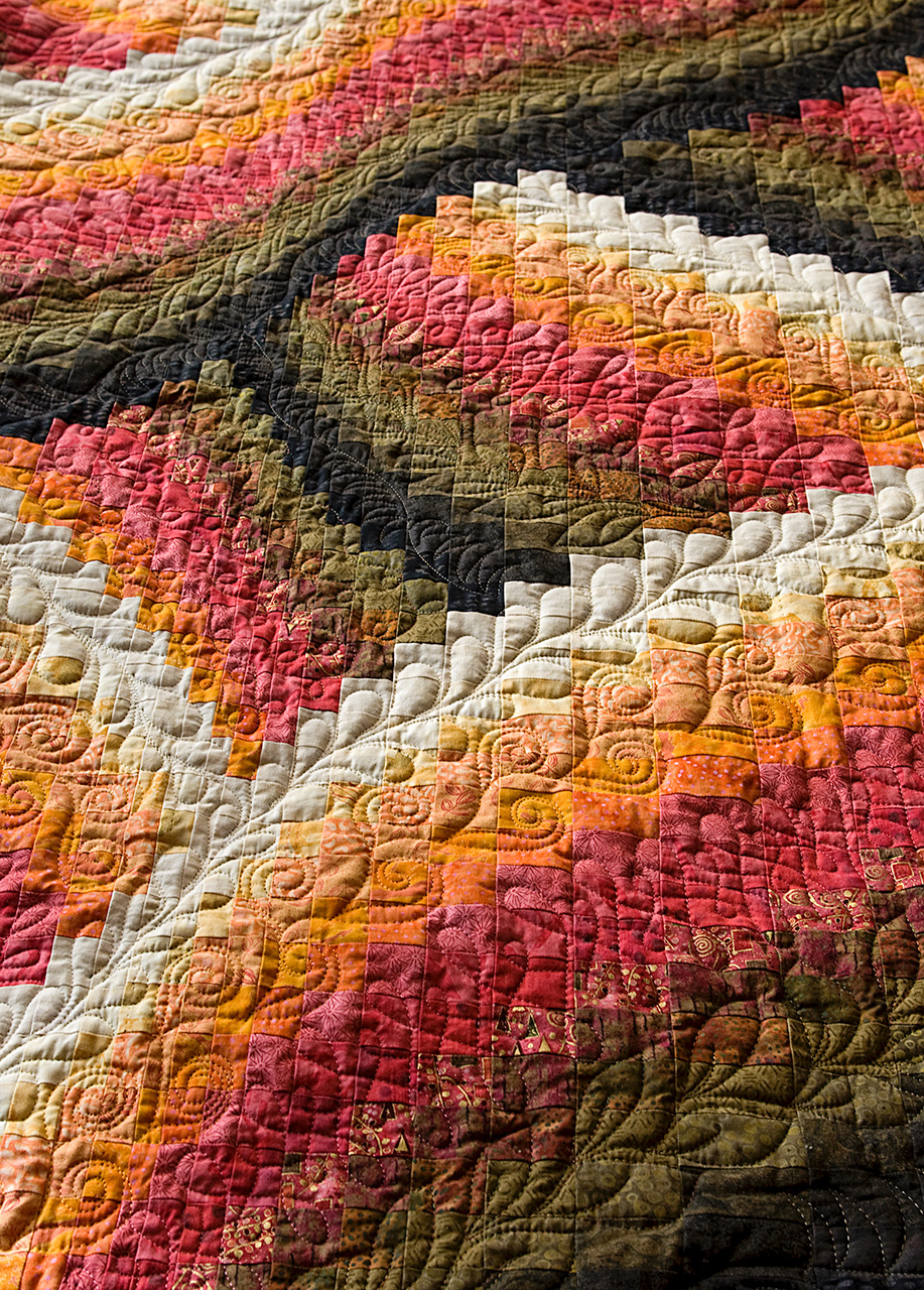 italy hungary bargello quilt