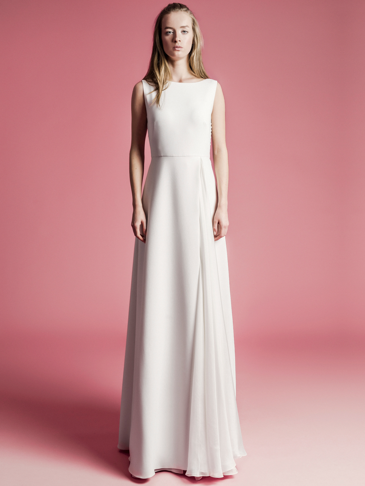 Sophie Et Voilà high neck sleeveless a-line wedding dress spring 2021