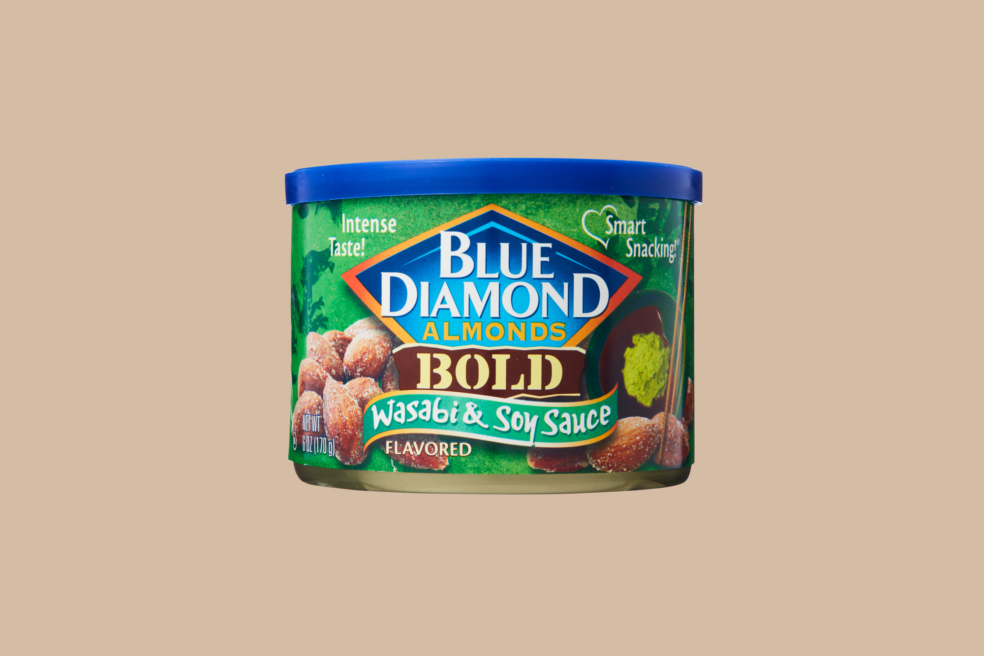 Blue Diamond Wasabi and Soy Sauce Almonds