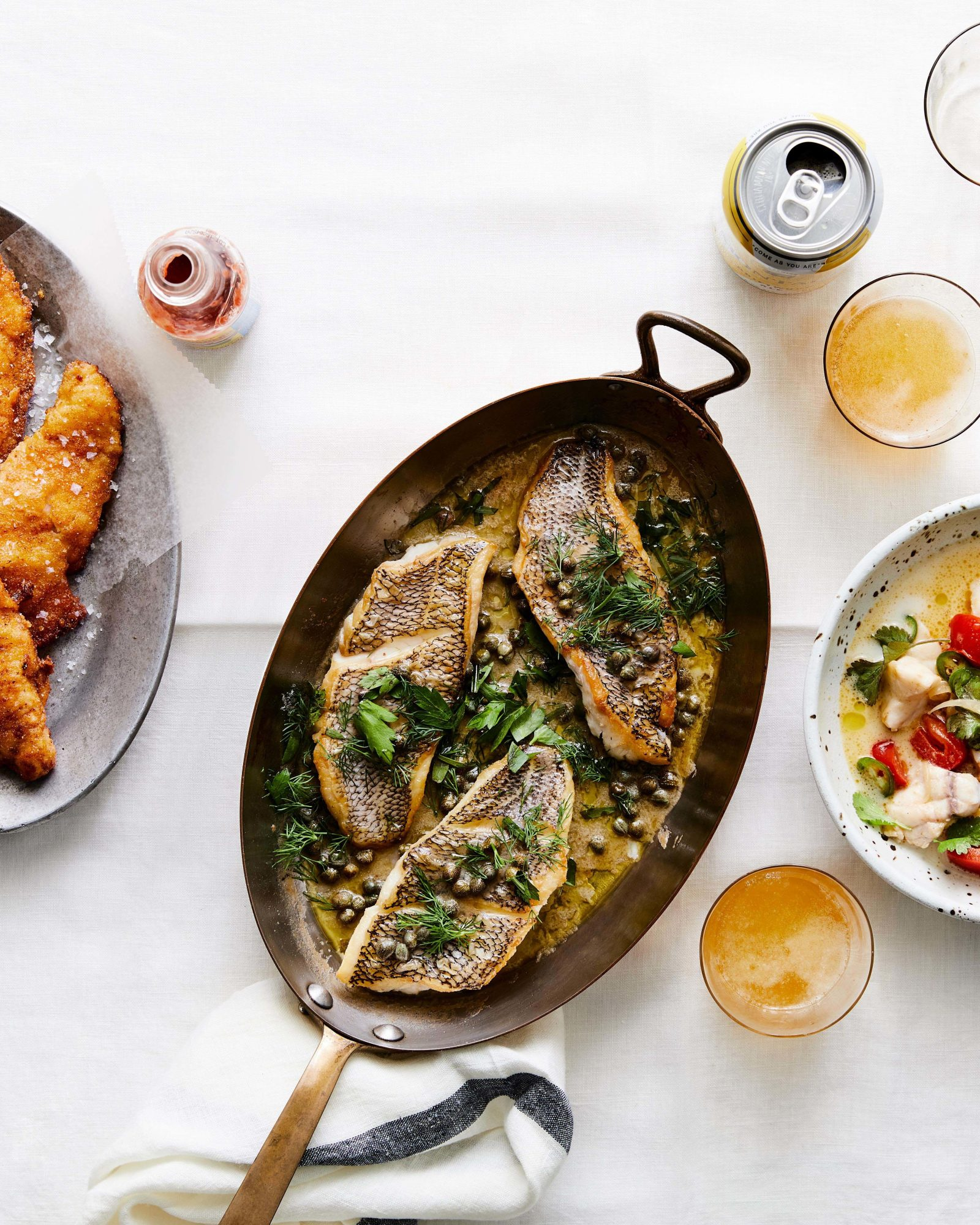 Variety of Fish Dinners