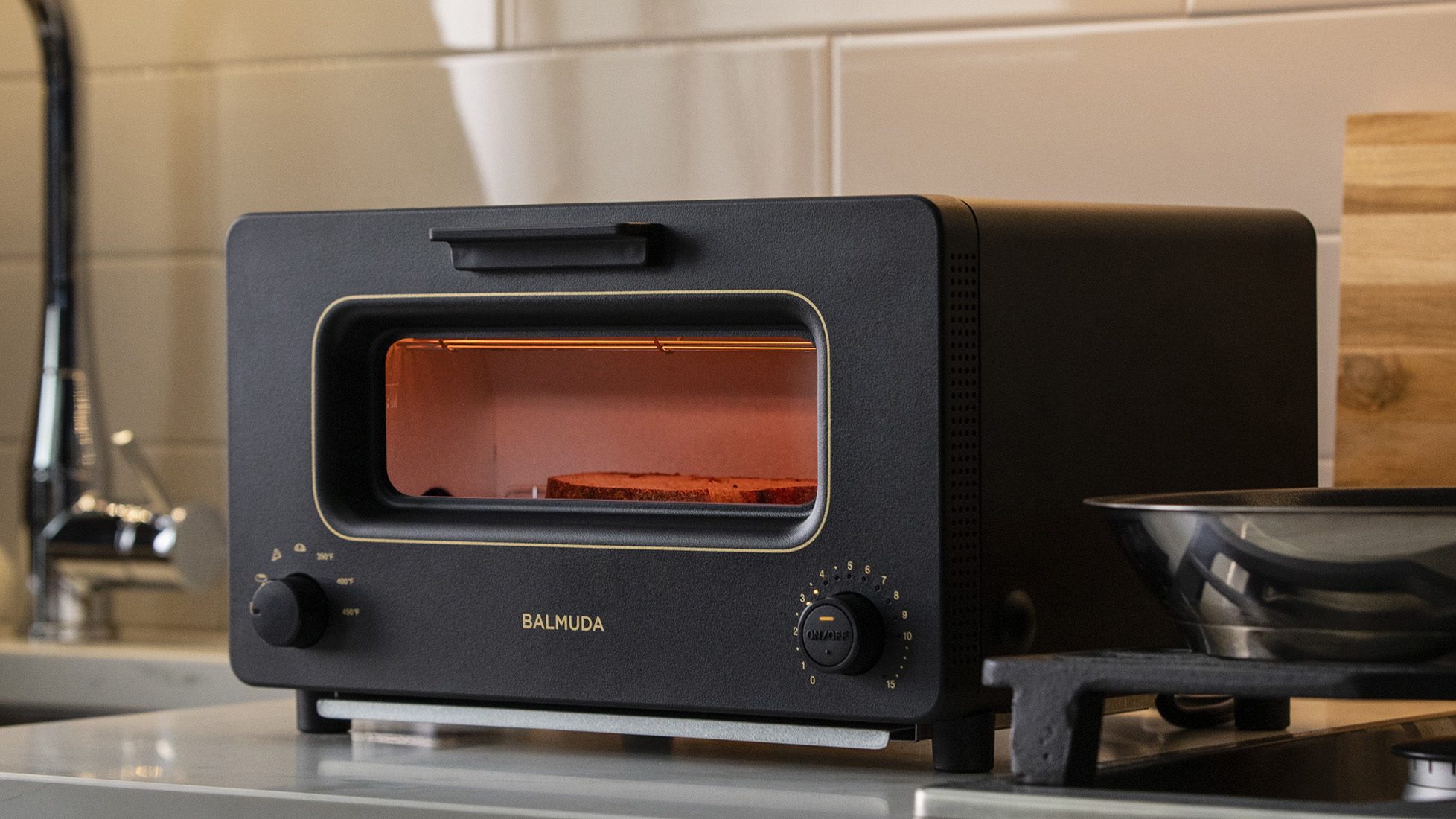 steam toaster from balmuda