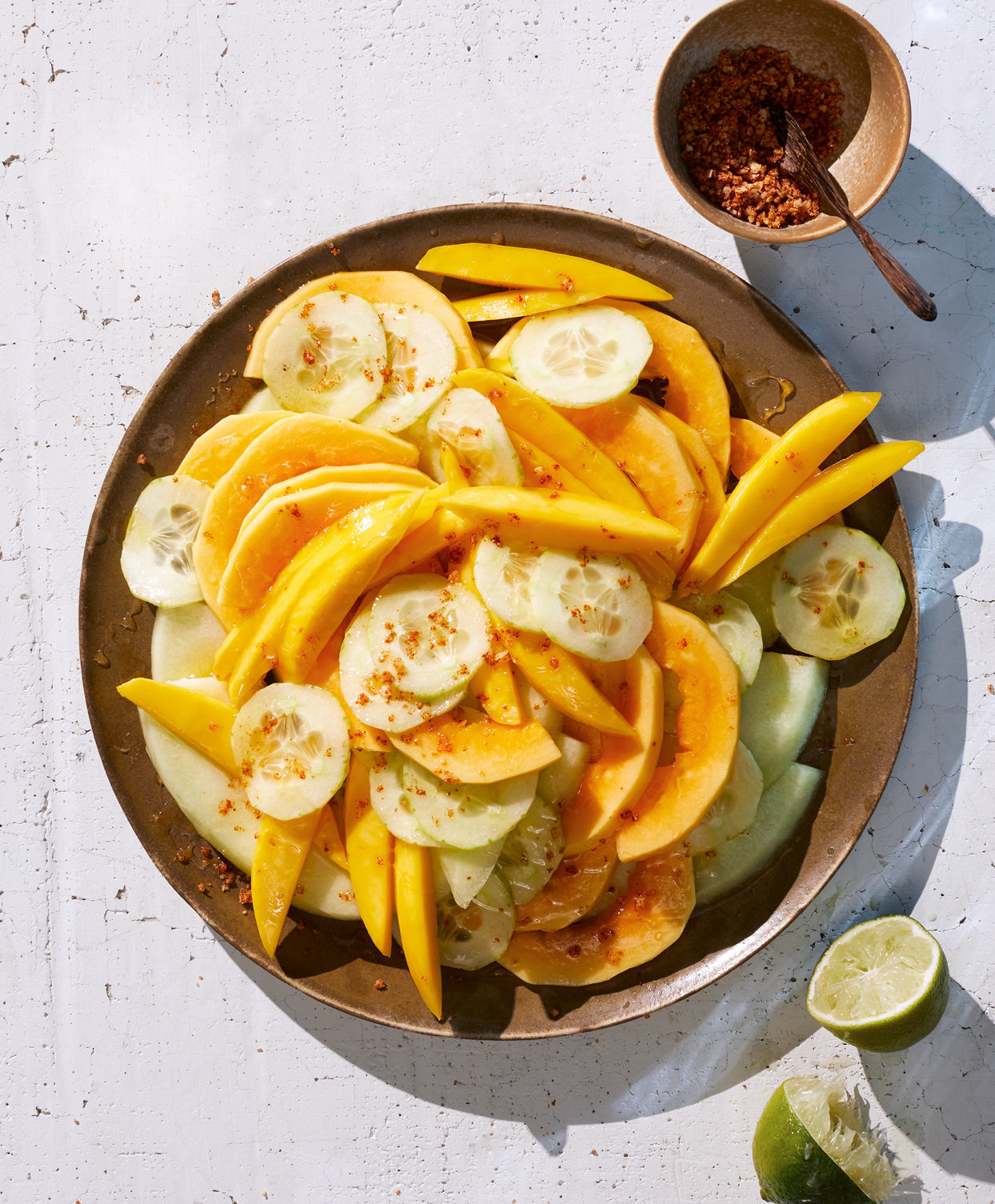 Mango, Papaya, and Melon Salad