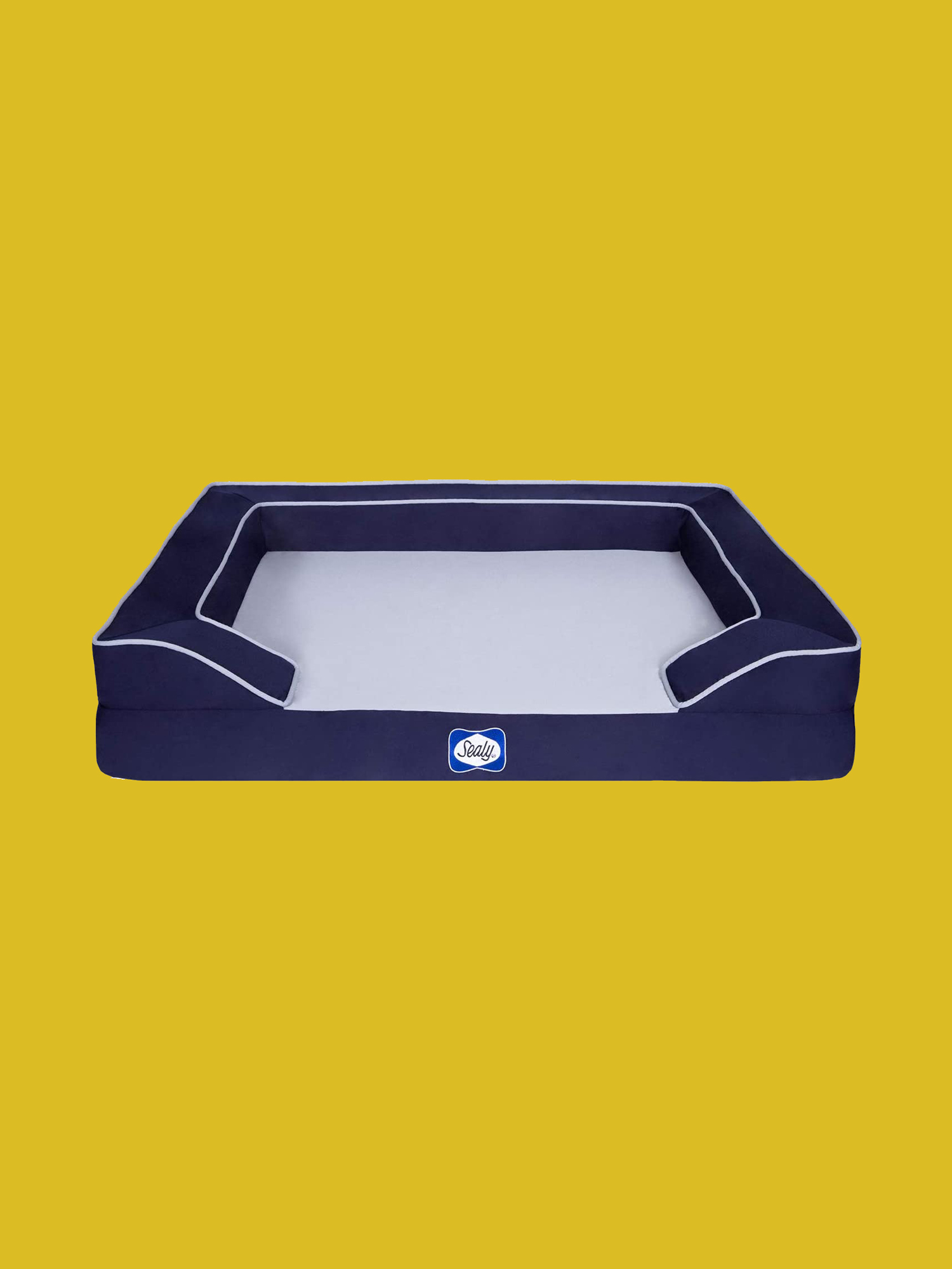 Navy Sealy Lux Premium Memory Foam Dog Bed
