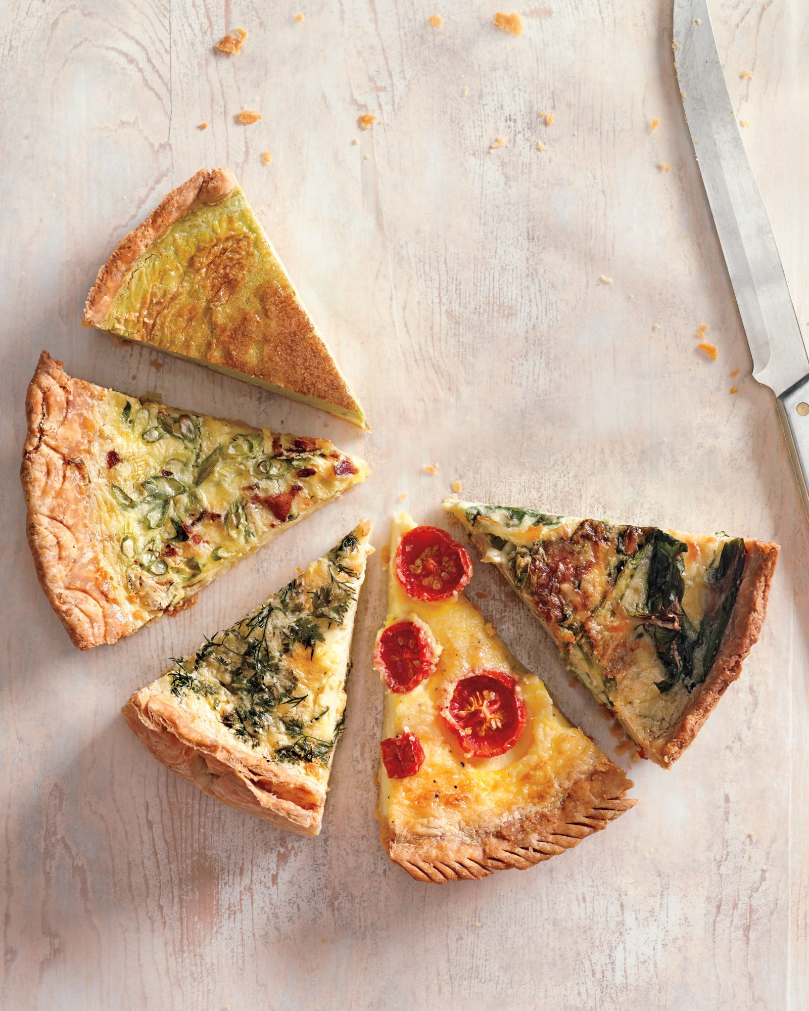 Quiche Slices