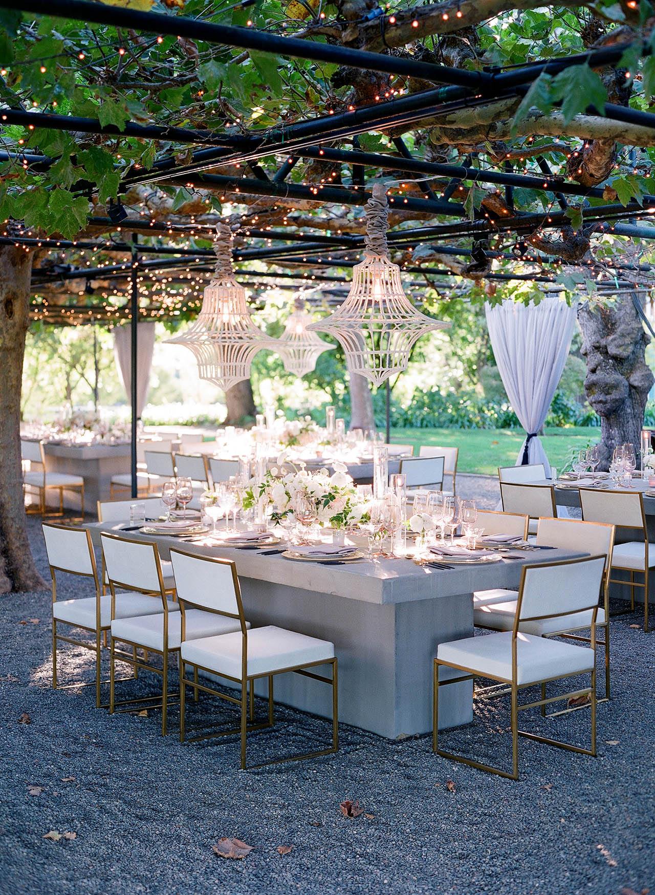 gillian tyler wedding reception seating decor