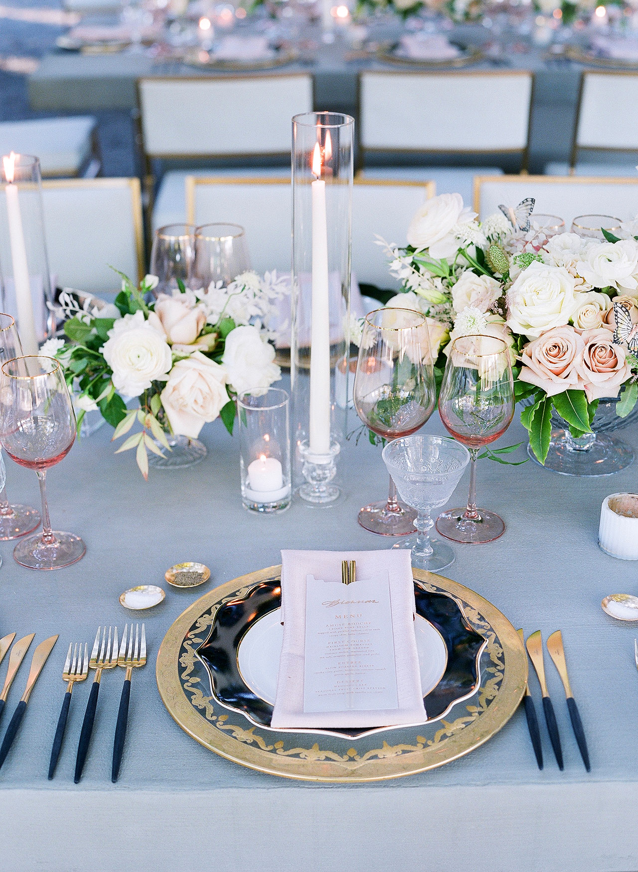 gillian tyler wedding reception tabletop decor