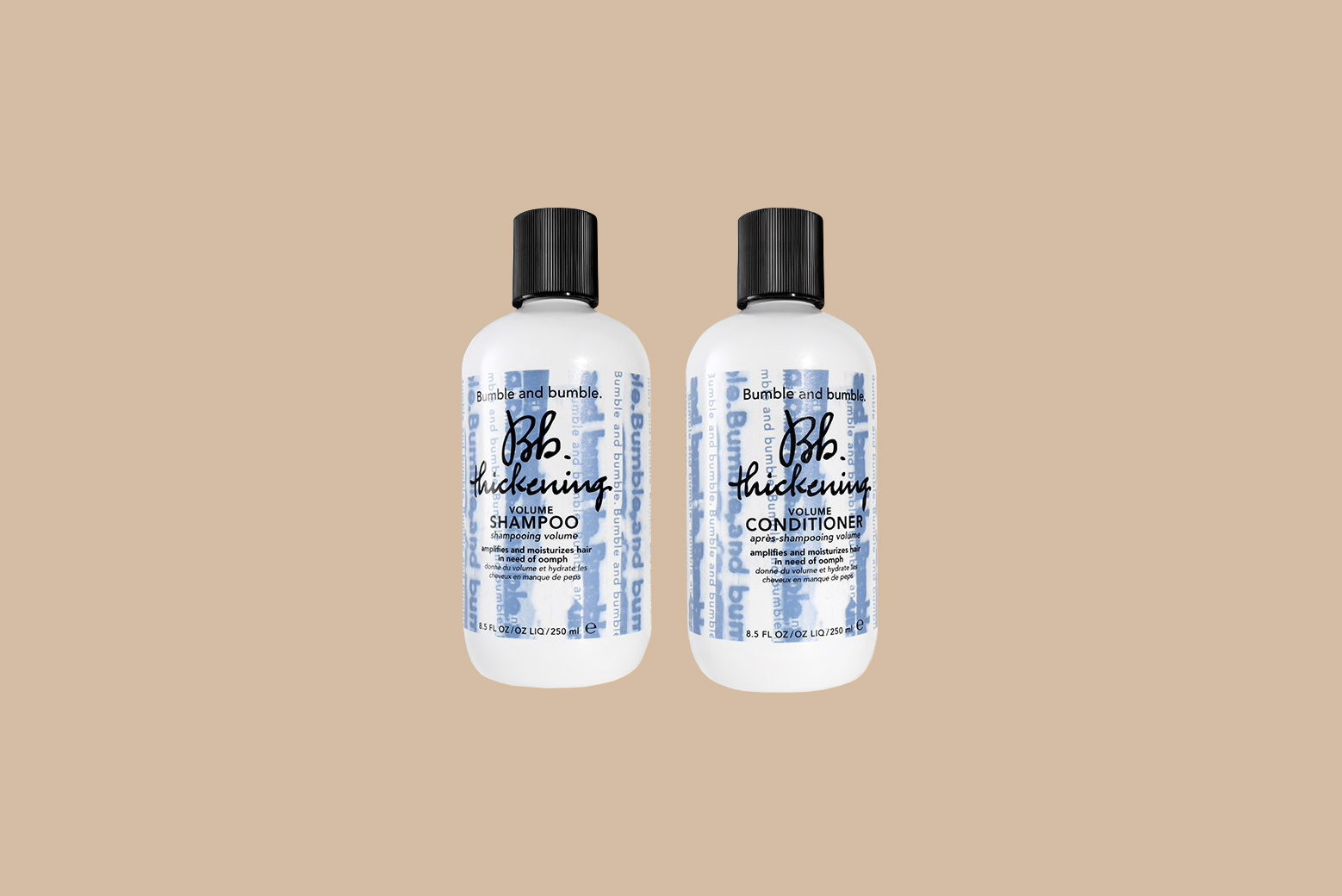 bumble and bumble volumizing shampoo conditioner sets
