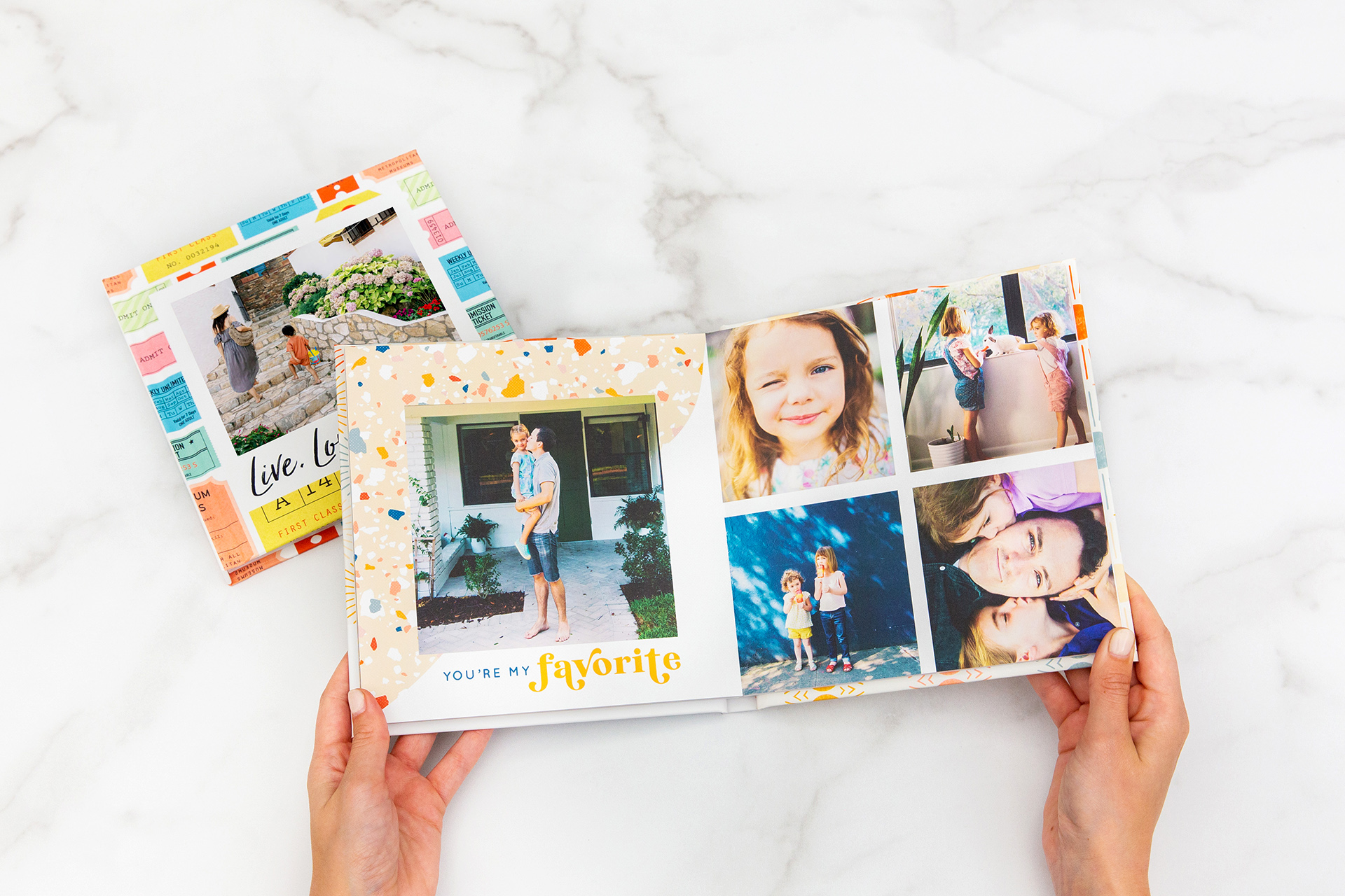 father's day photo travel book