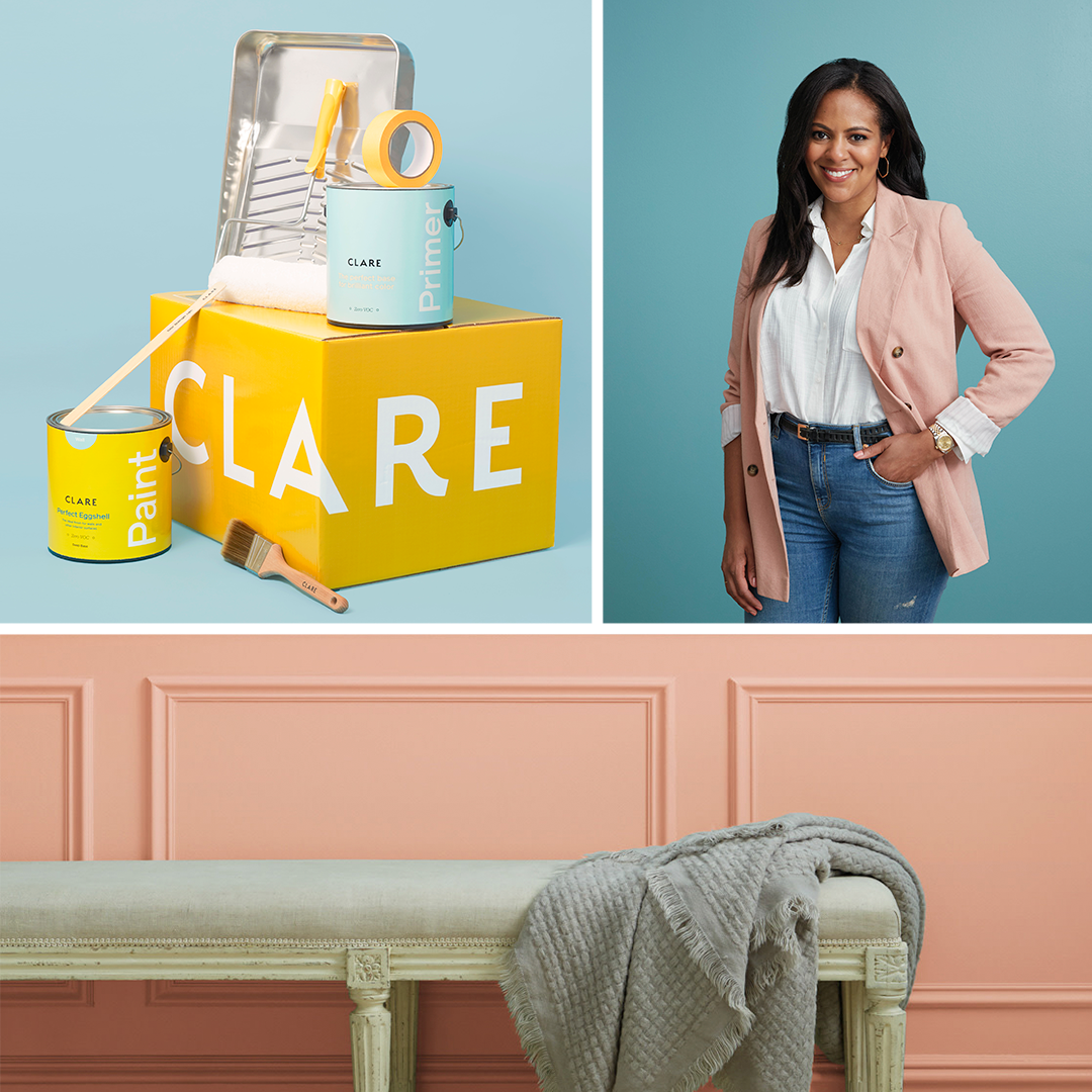 Nicole Gibbons and product from Clare paint