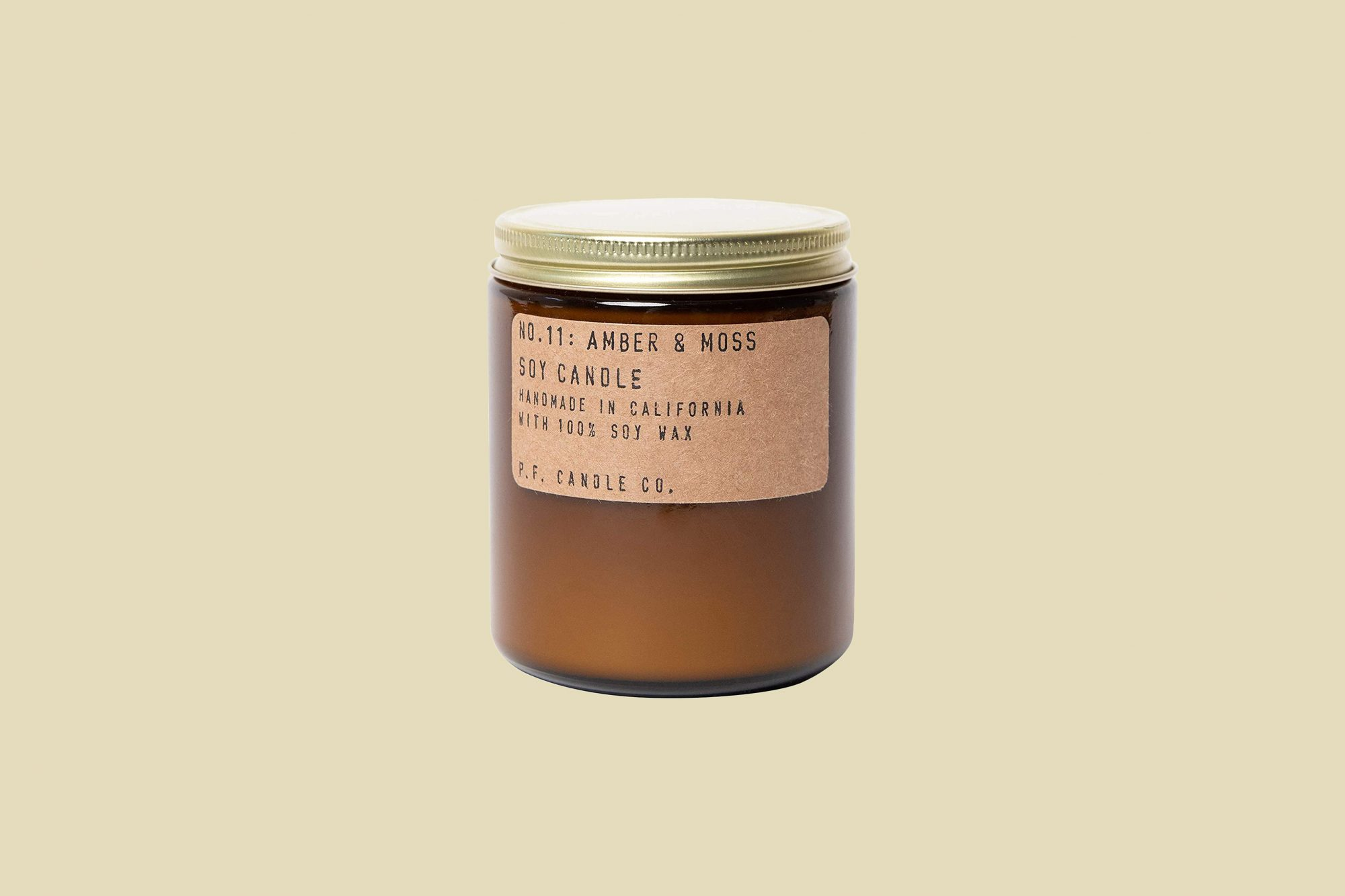 """PF. Candle Co """"Amber & Moss"""" Standard Soy Candle"""