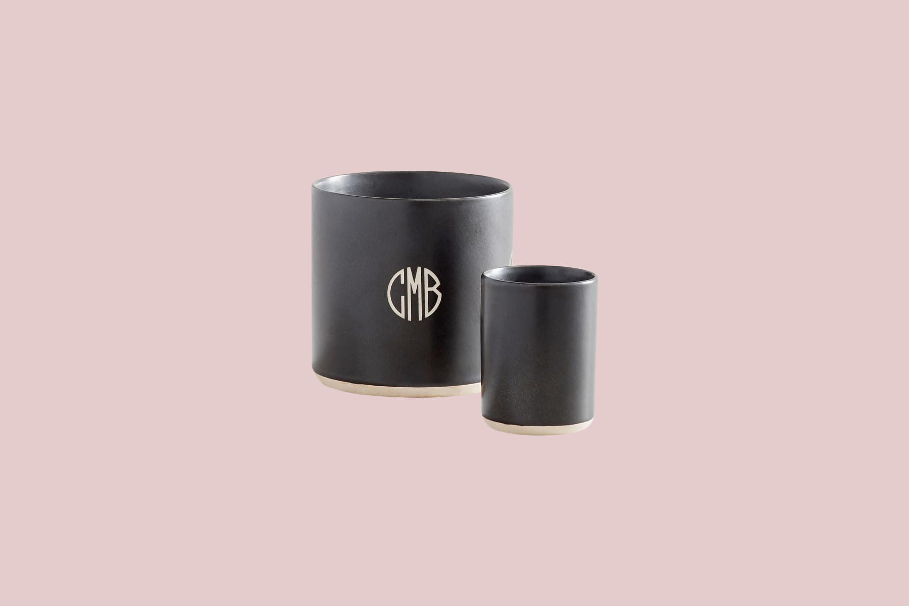 "Mason Ceramic Scented Candles ""Black Amber"" candle"