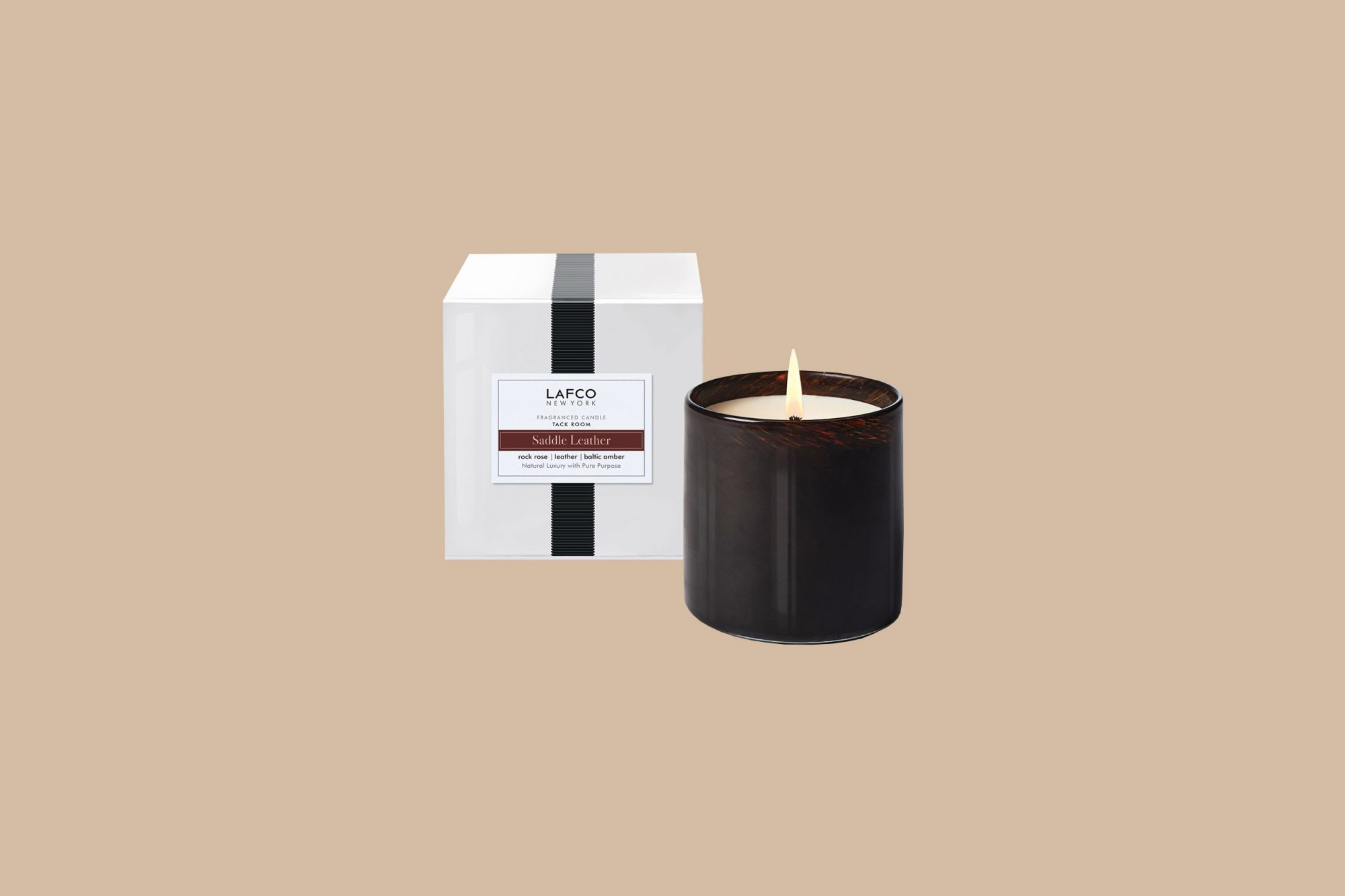 "LAFCO ""Saddle Leather"" Candle"