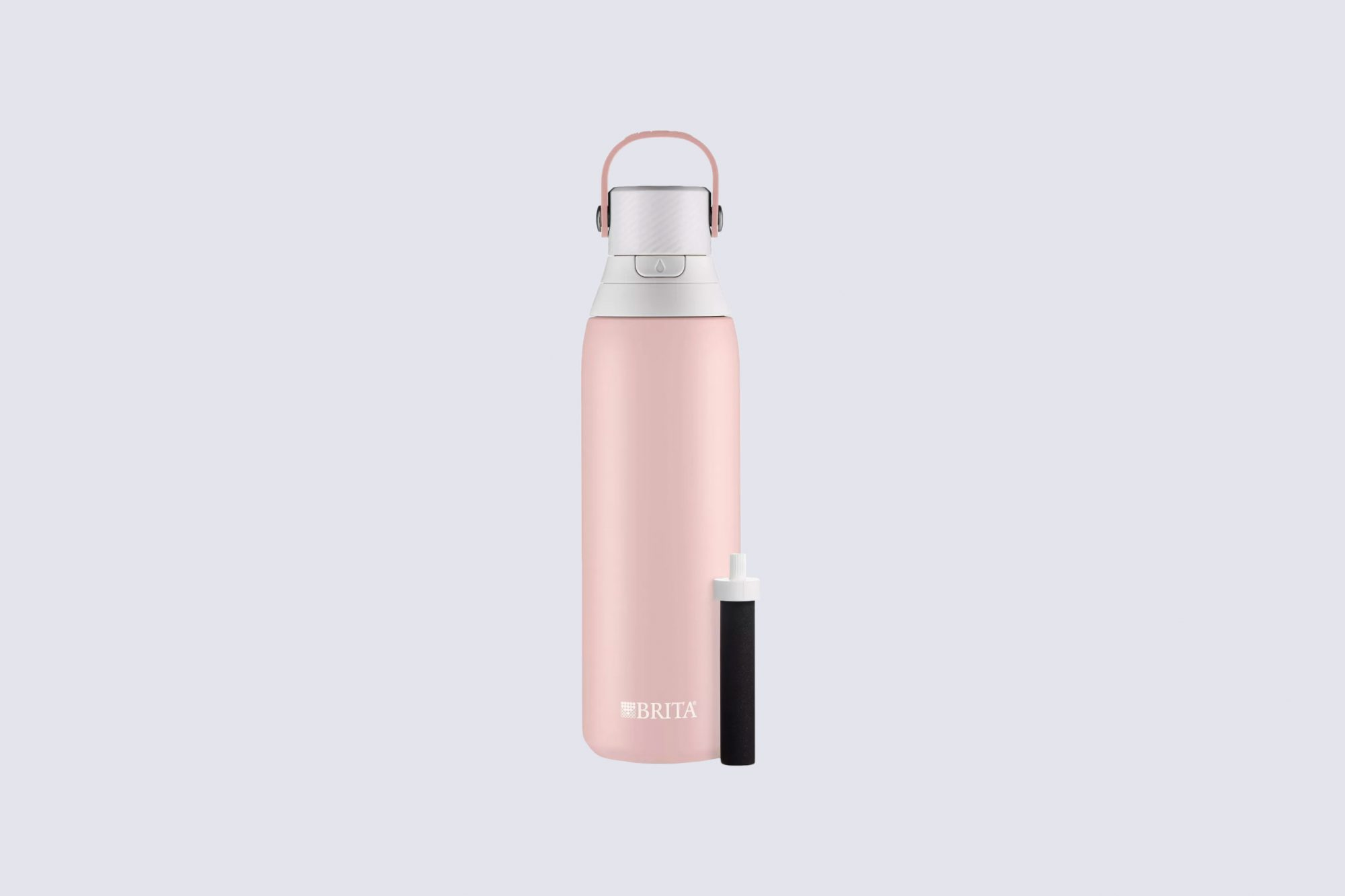 """Brita """"Premium Double-Wall Stainless Steel"""" Insulated Filtered Water Bottle"""