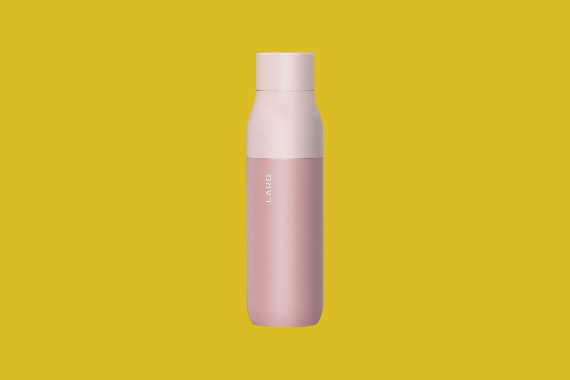 LARQ Self Cleaning Bottle in Himalayan Pink