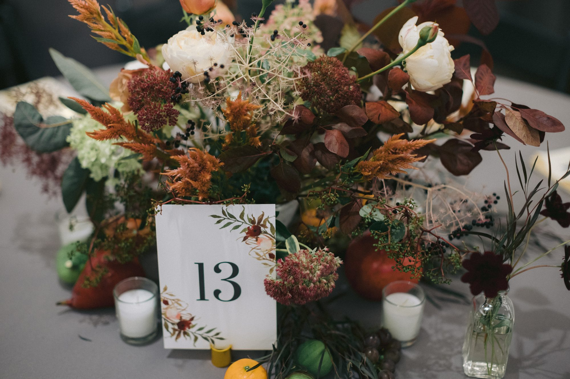 fall inspired centerpiece
