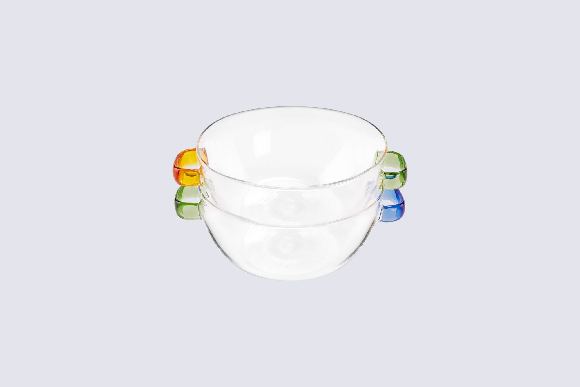 MoMA Design Store Multicolor Glass Bowls