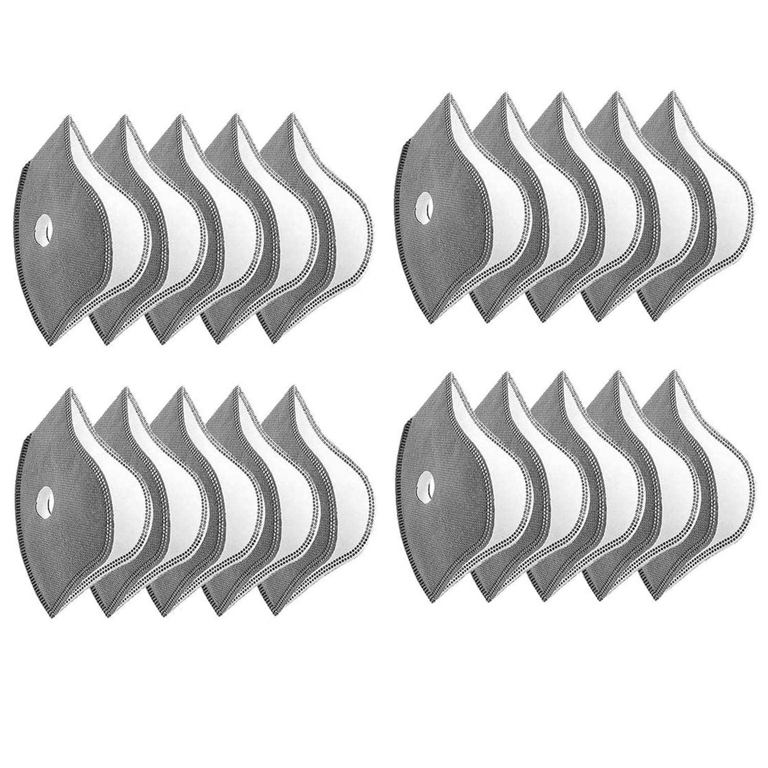 set of face mask filters